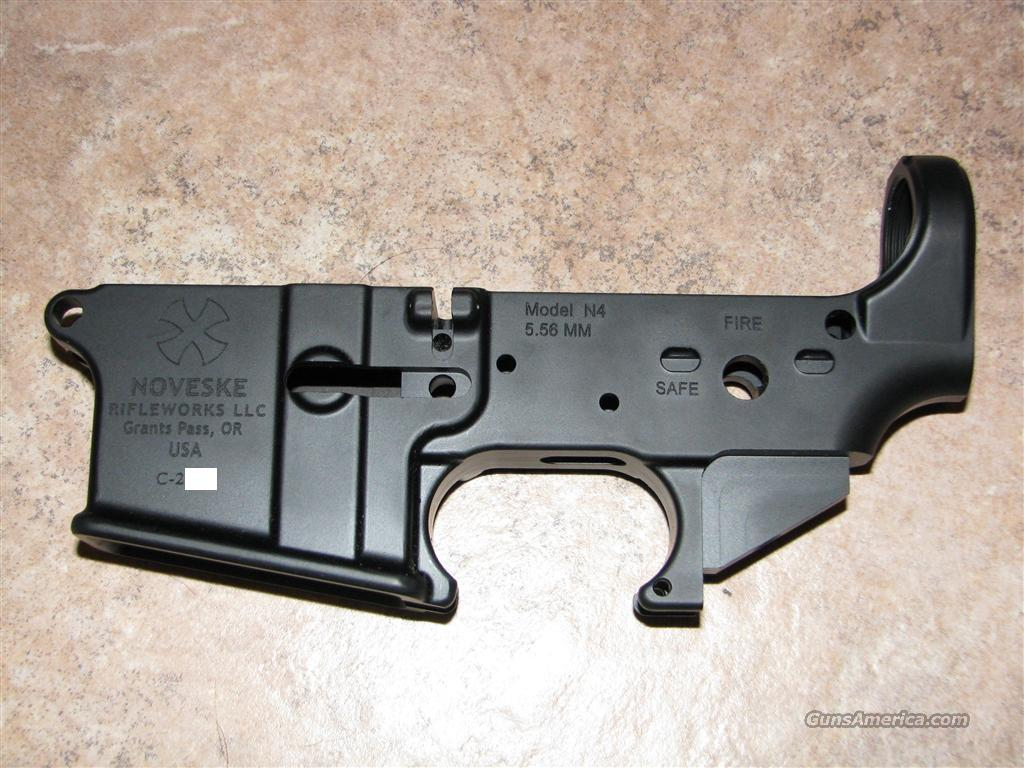 Noveske 5.56 AR15 stripped receiver  Guns > Rifles > AR-15 Rifles - Small Manufacturers > Lower Only