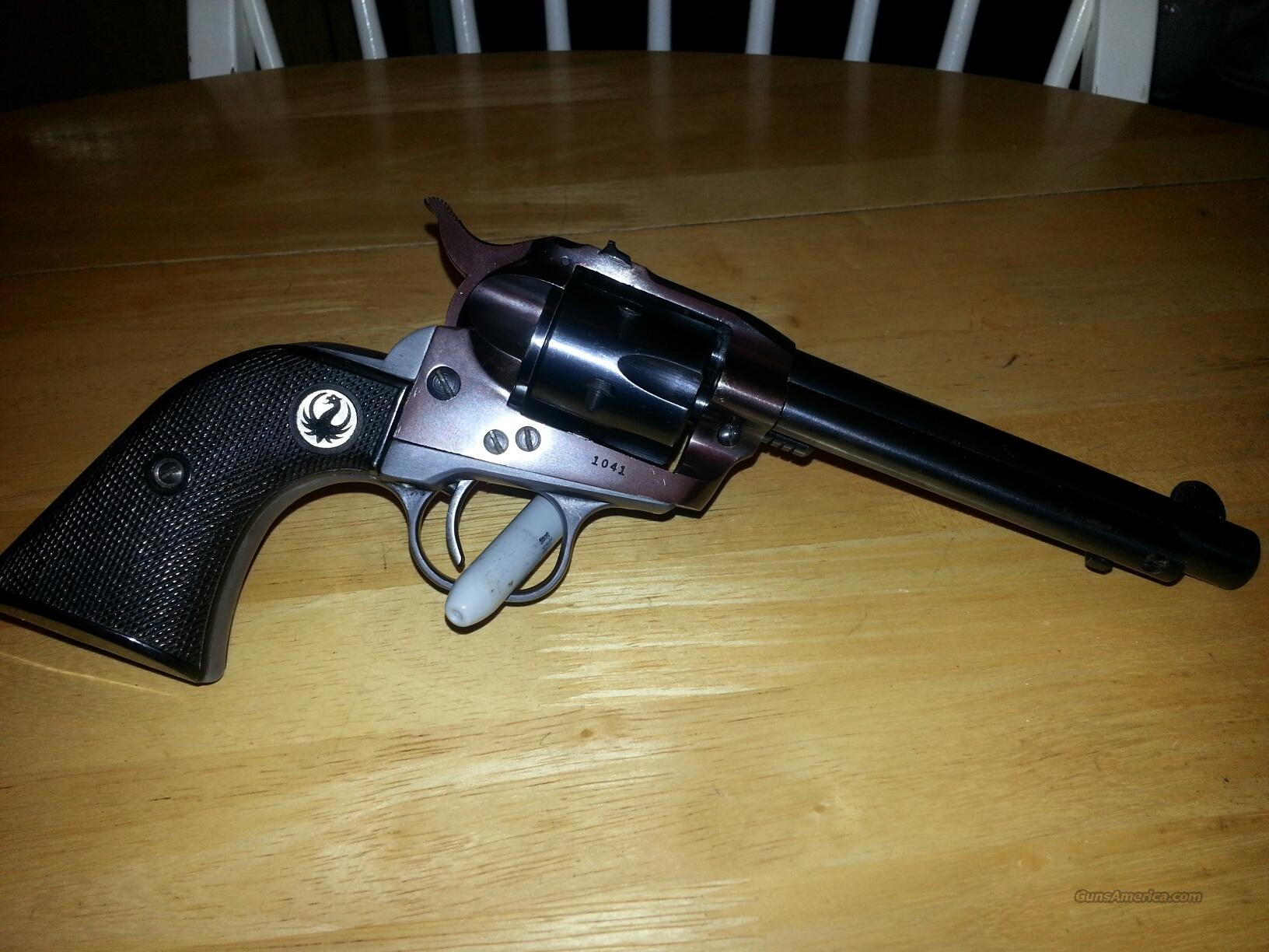 1954 ruger single six 22 L revolver  Guns > Pistols > Ruger Single Action Revolvers > Single Six Type