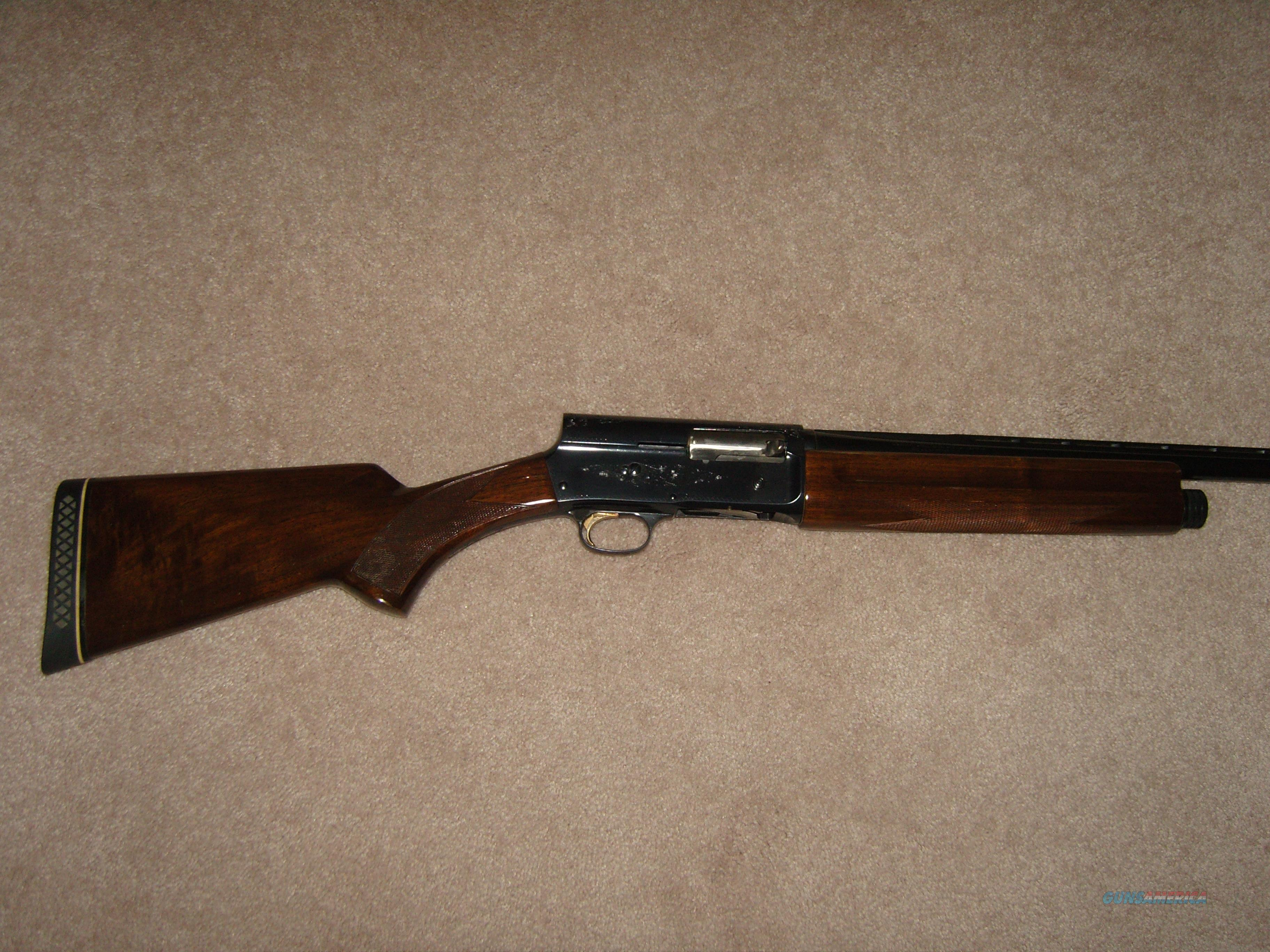 Browning A-5 Light 20 VR Full  Guns > Shotguns > Browning Shotguns > Autoloaders > Hunting