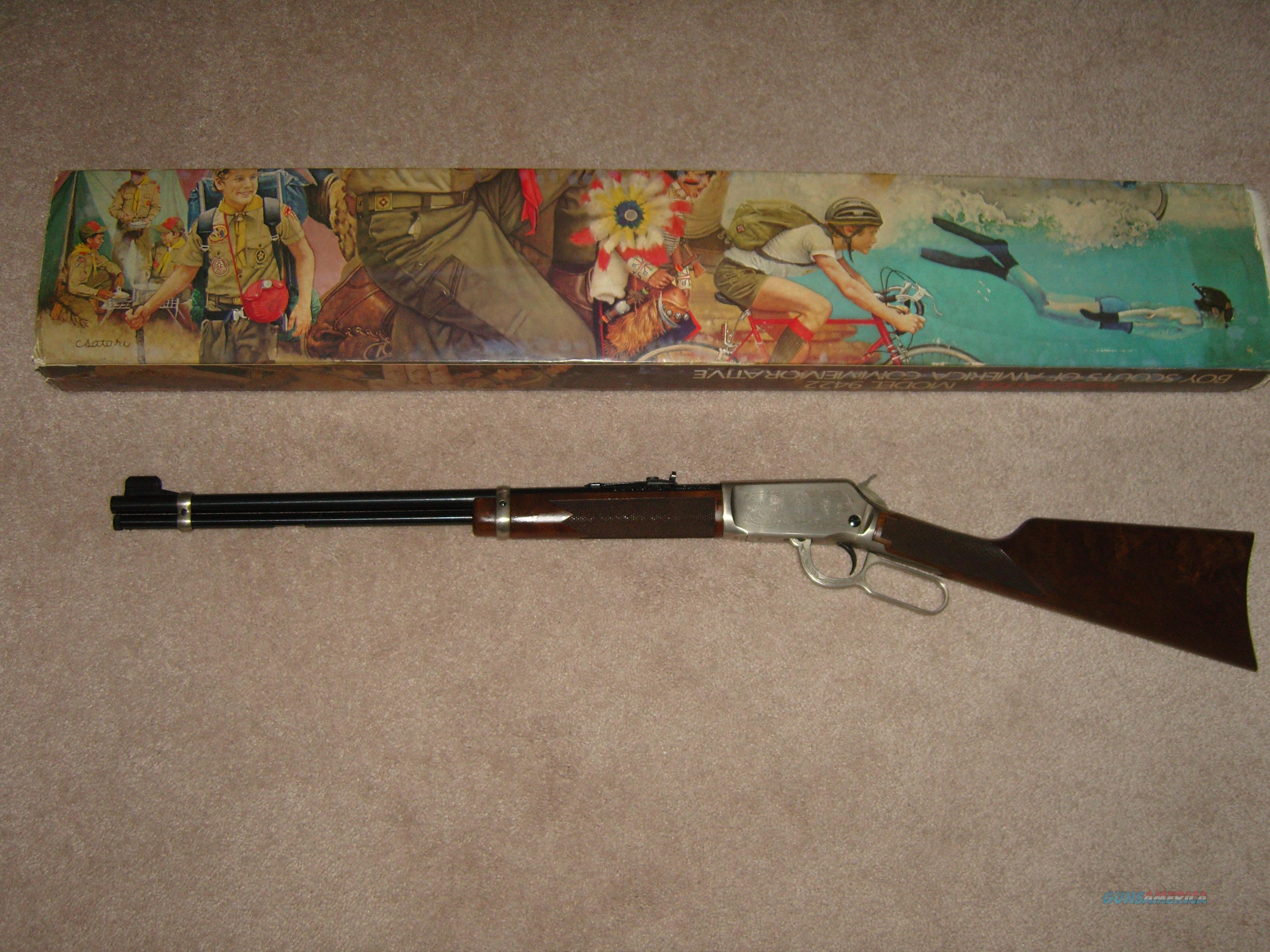 9422 Boy Scouts 75th anniversary   Guns > Rifles > Winchester Rifles - Modern Lever > Model 94 > Post-64