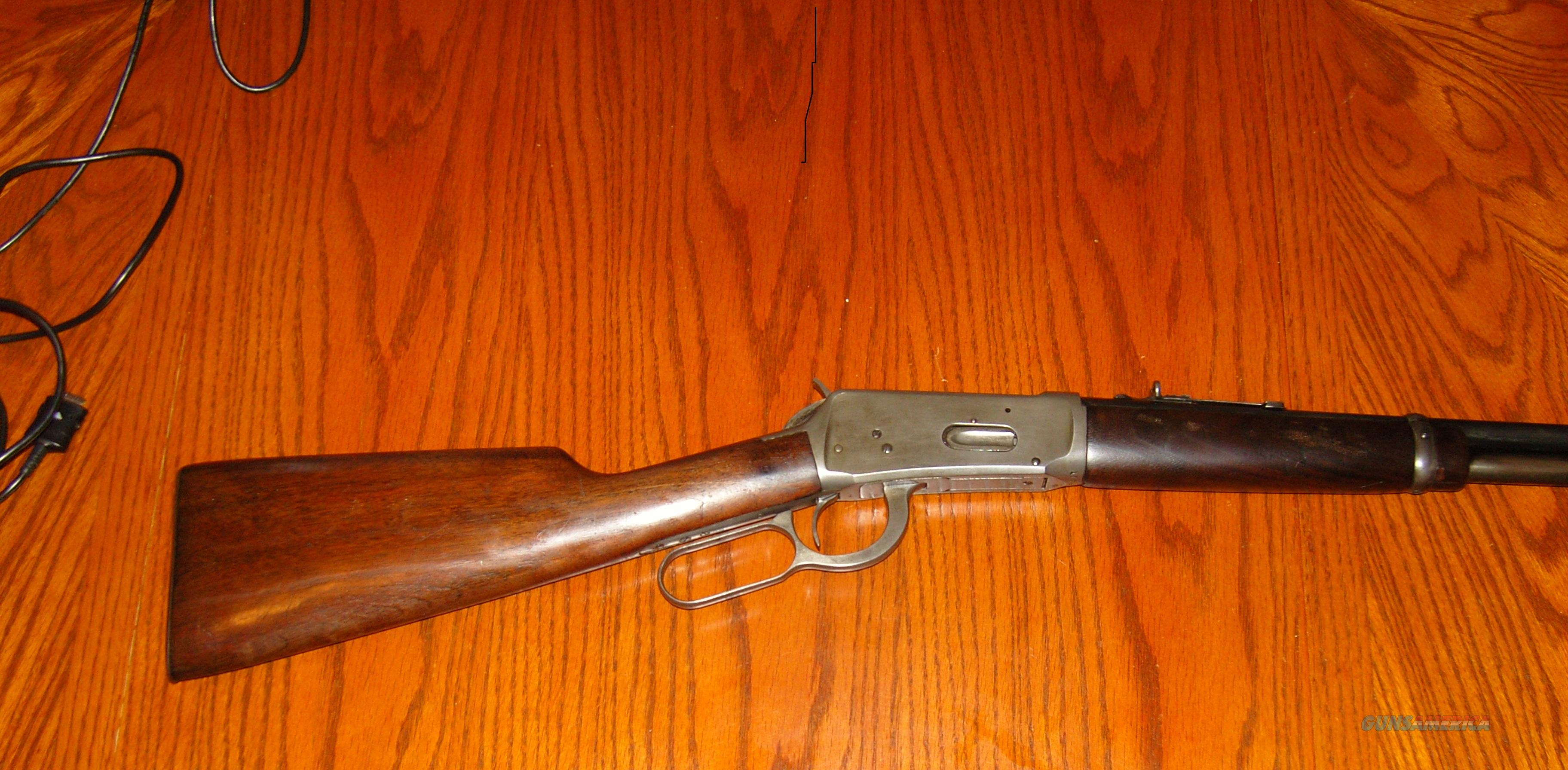 Winchester model 94 32 win, spl.  Guns > Rifles > Winchester Rifles - Modern Lever > Model 94 > Pre-64