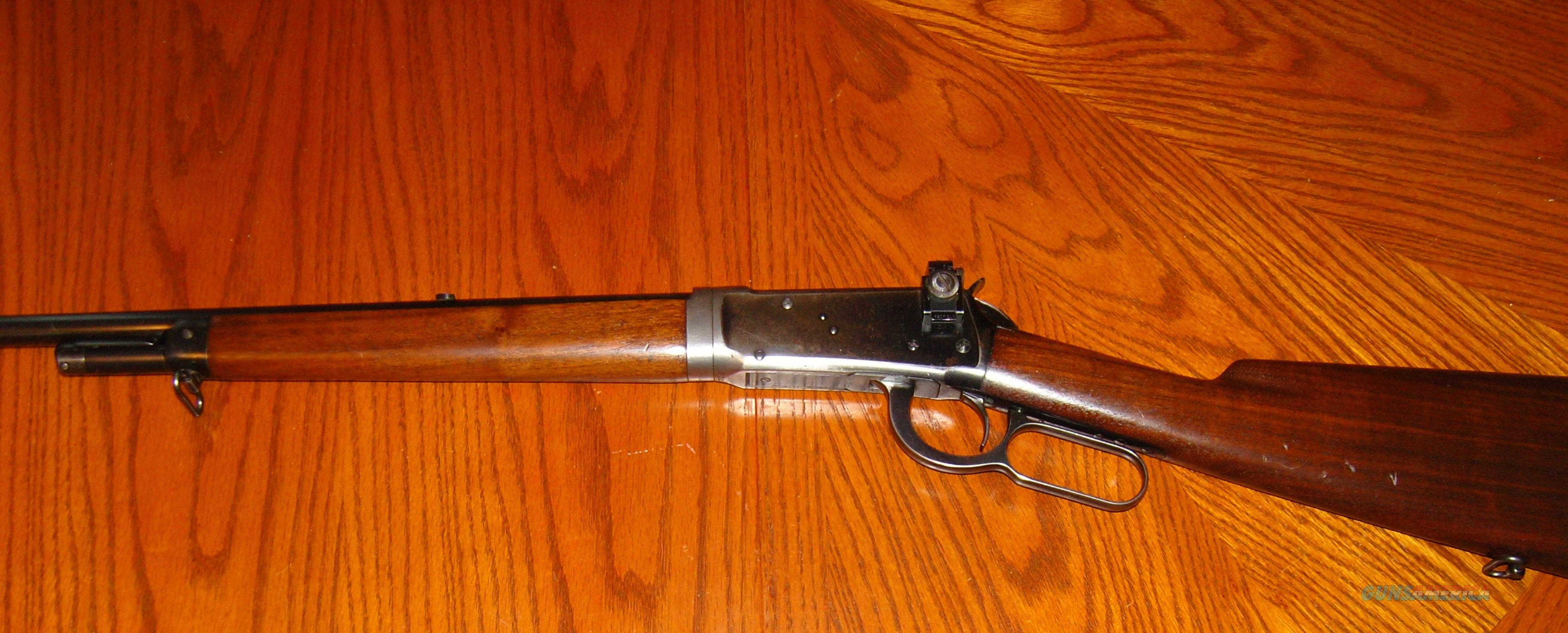 Winchester model 55 .32 win. spl.   Guns > Rifles > Winchester Rifles - Modern Lever > Other Lever > Pre-64