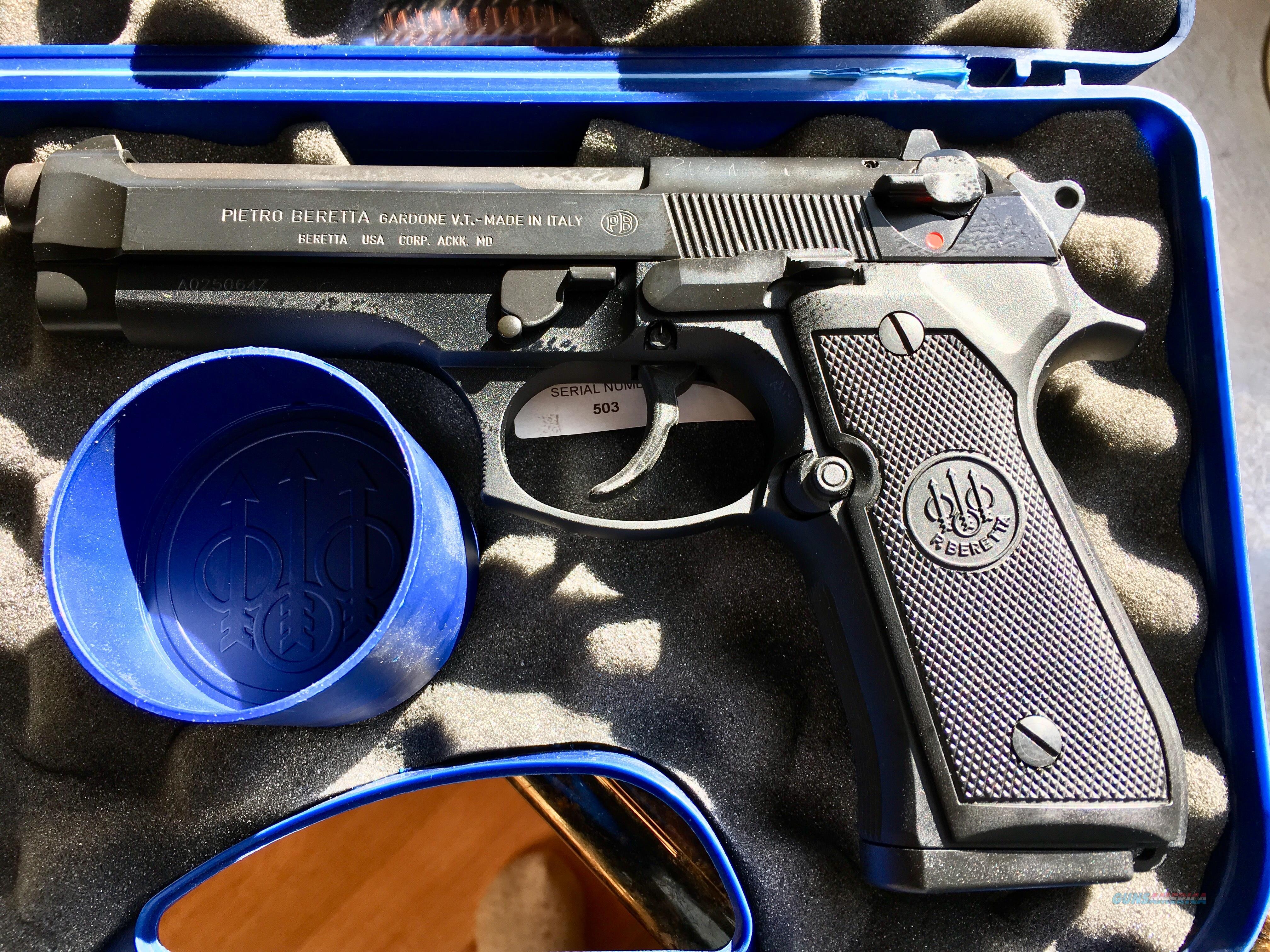 BERETTA 92- FS      Guns > Pistols > Beretta Pistols > Model 92 Series