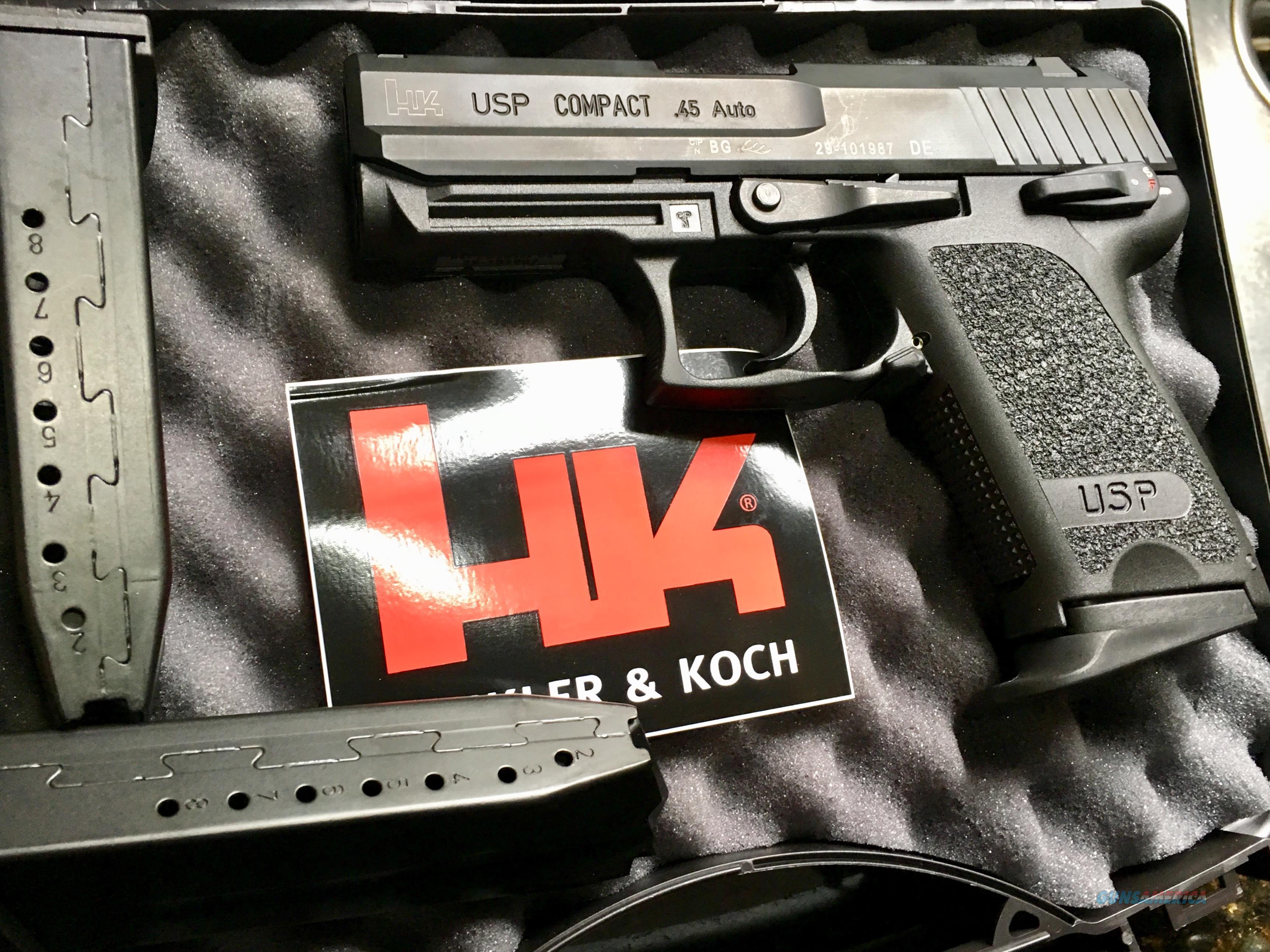 H & K USP COMPACT 45   Guns > Pistols > Heckler & Koch Pistols > Polymer Frame