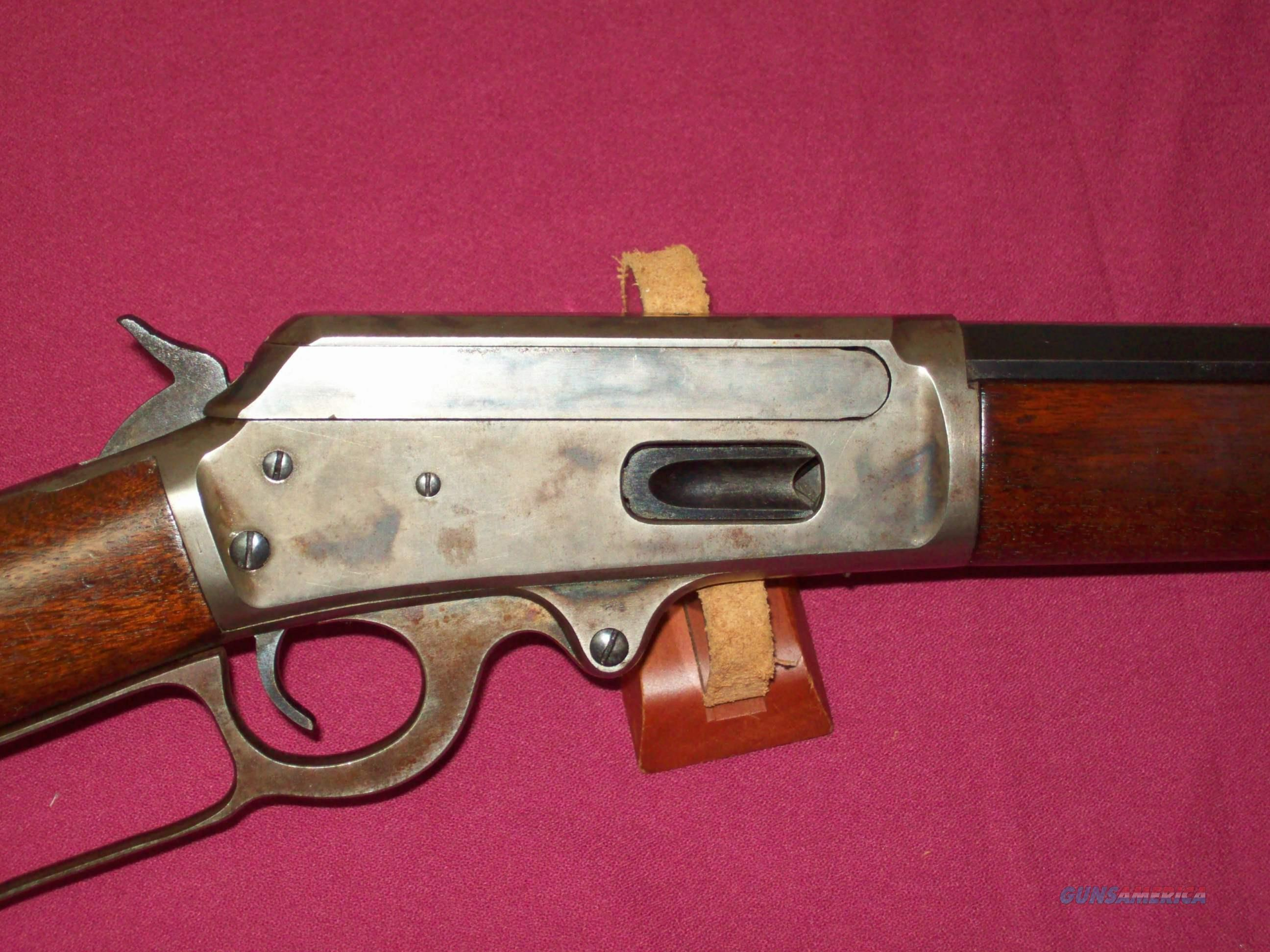Marlin Model 93 32 win, spl . 1/2 oct case colored  Guns > Rifles > Marlin Rifles > Modern > Lever Action