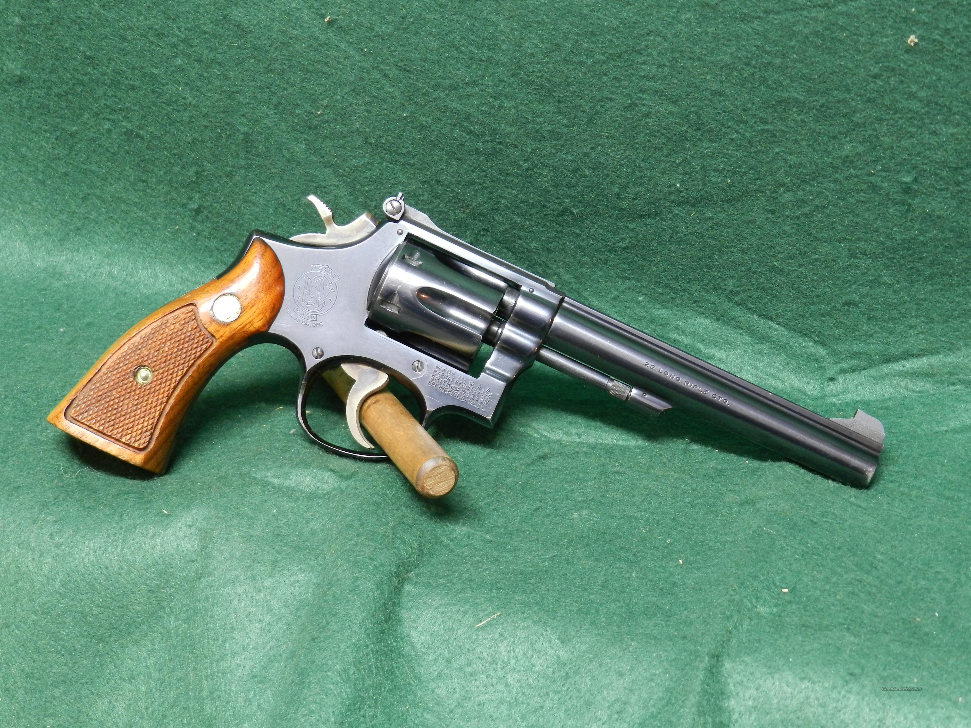 Smith & Wesson Model 17-3  Guns > Pistols > Smith & Wesson Revolvers > Full Frame Revolver