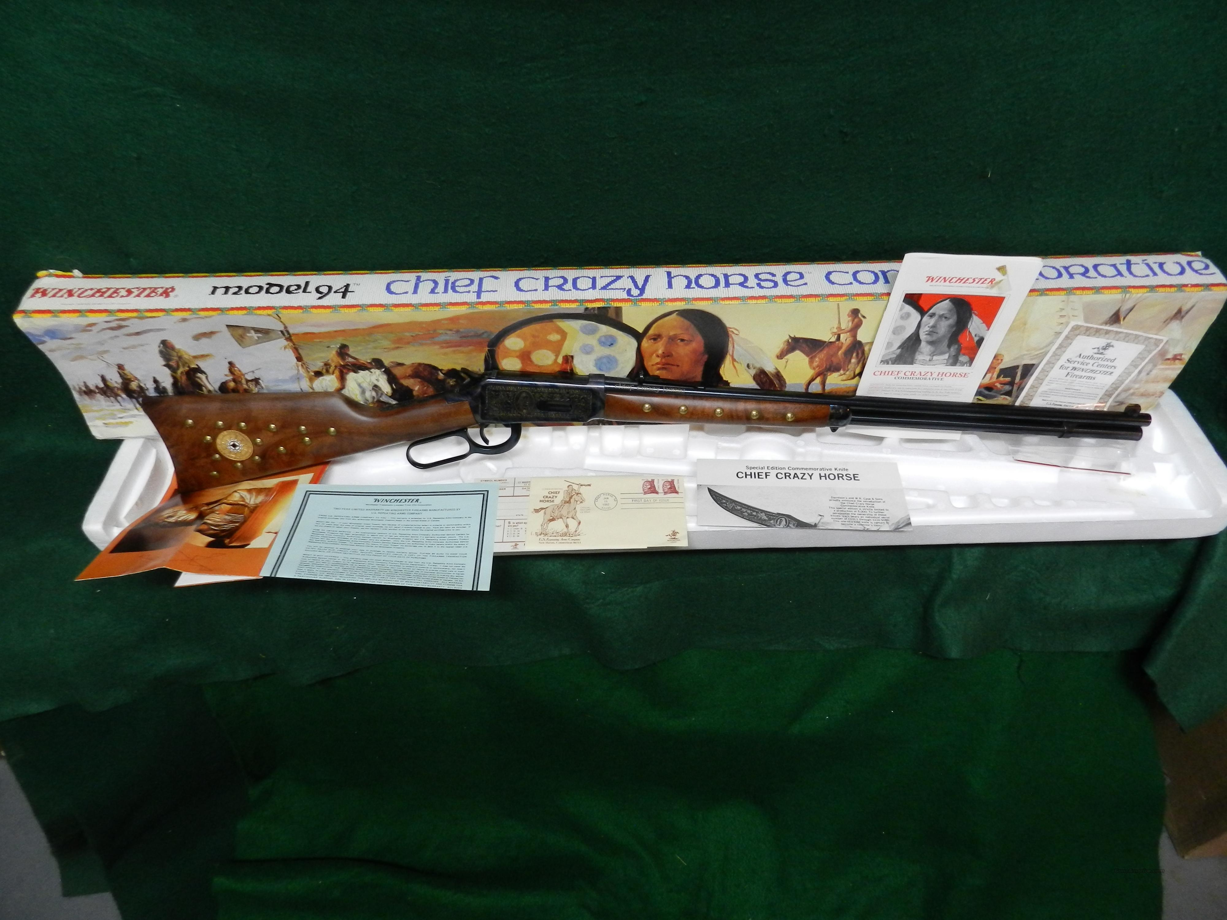 Winchester Model 94 Chief Crazy Horse  Guns > Rifles > Winchester Rifle Commemoratives