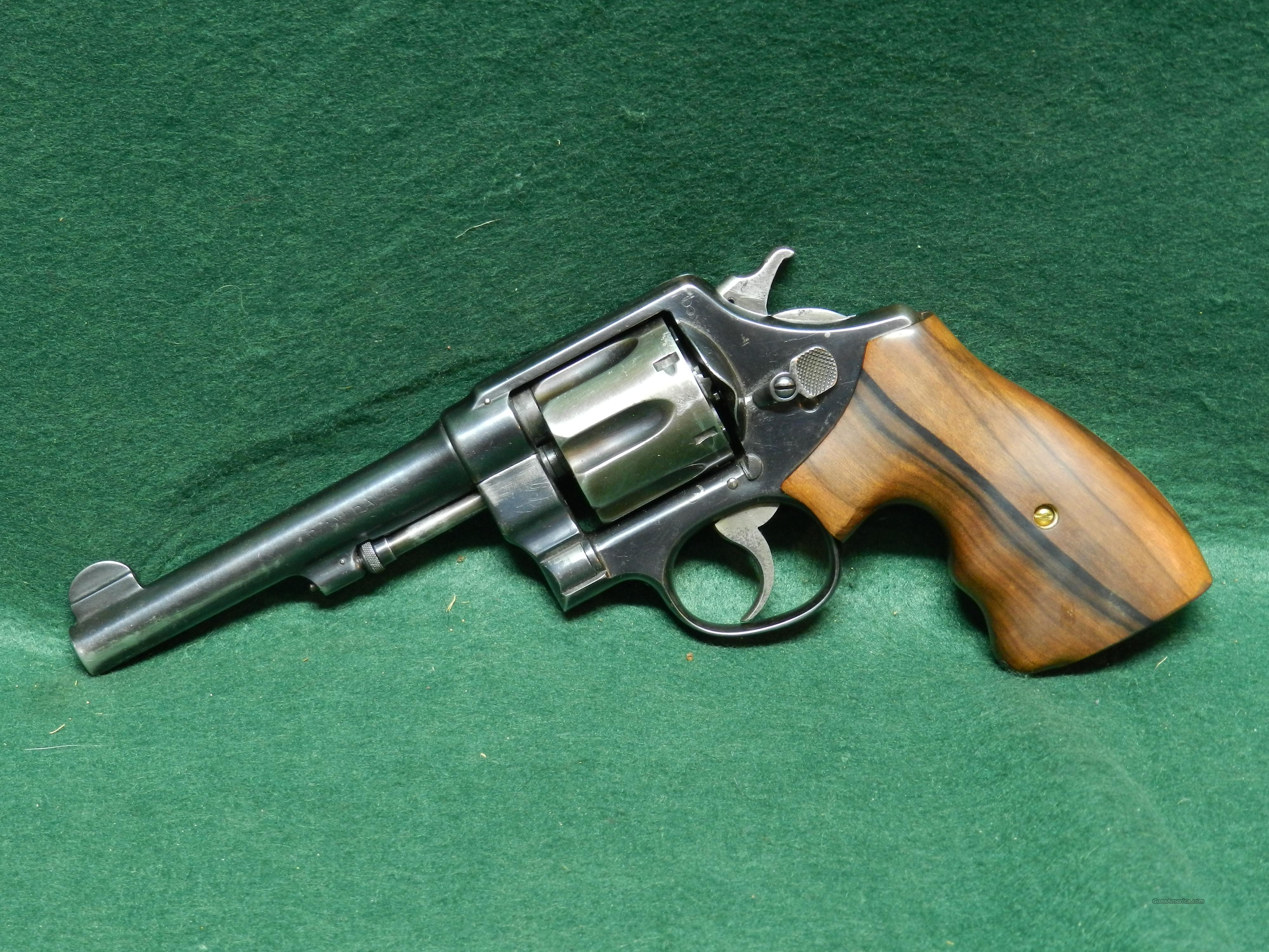 Smith & Wesson Model US 1917  Guns > Pistols > Smith & Wesson Revolvers > Full Frame Revolver