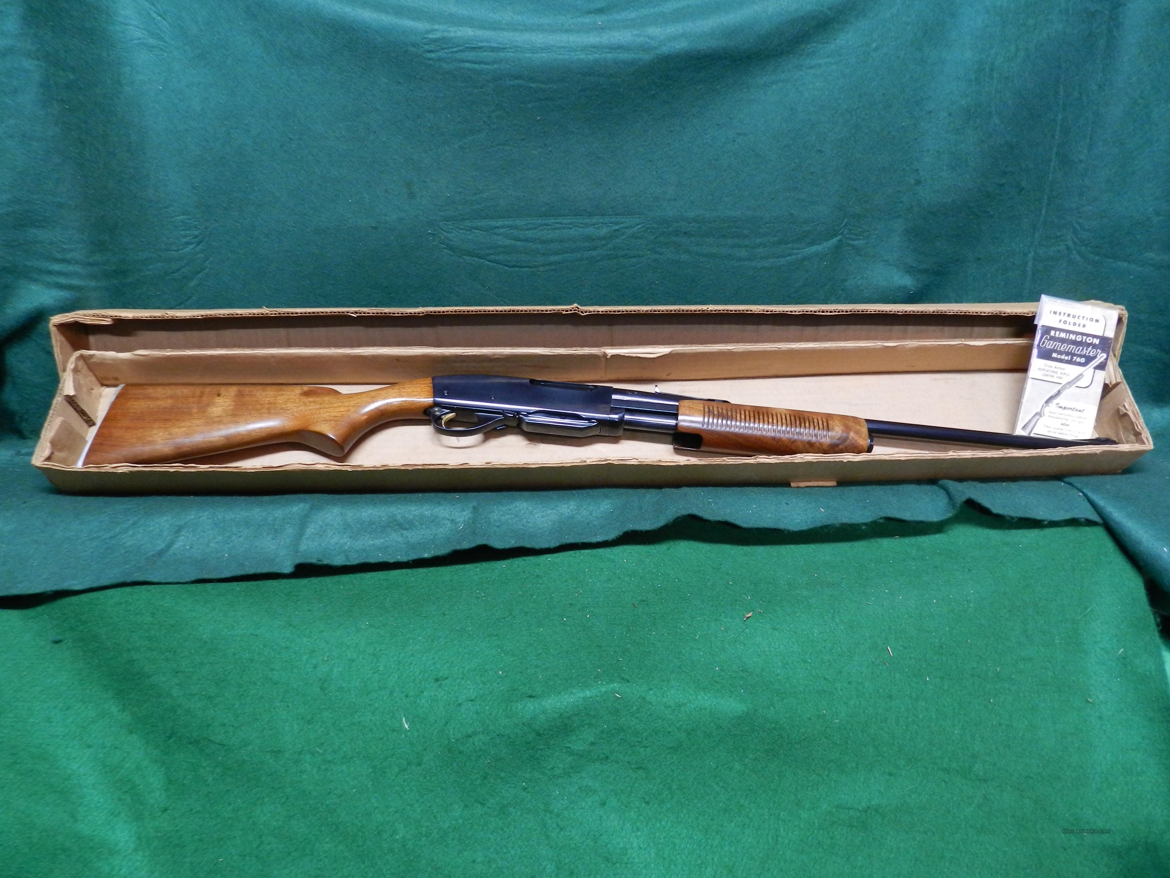 Remington Model 760 in 222 Remington  Guns > Rifles > Remington Rifles - Modern > Other