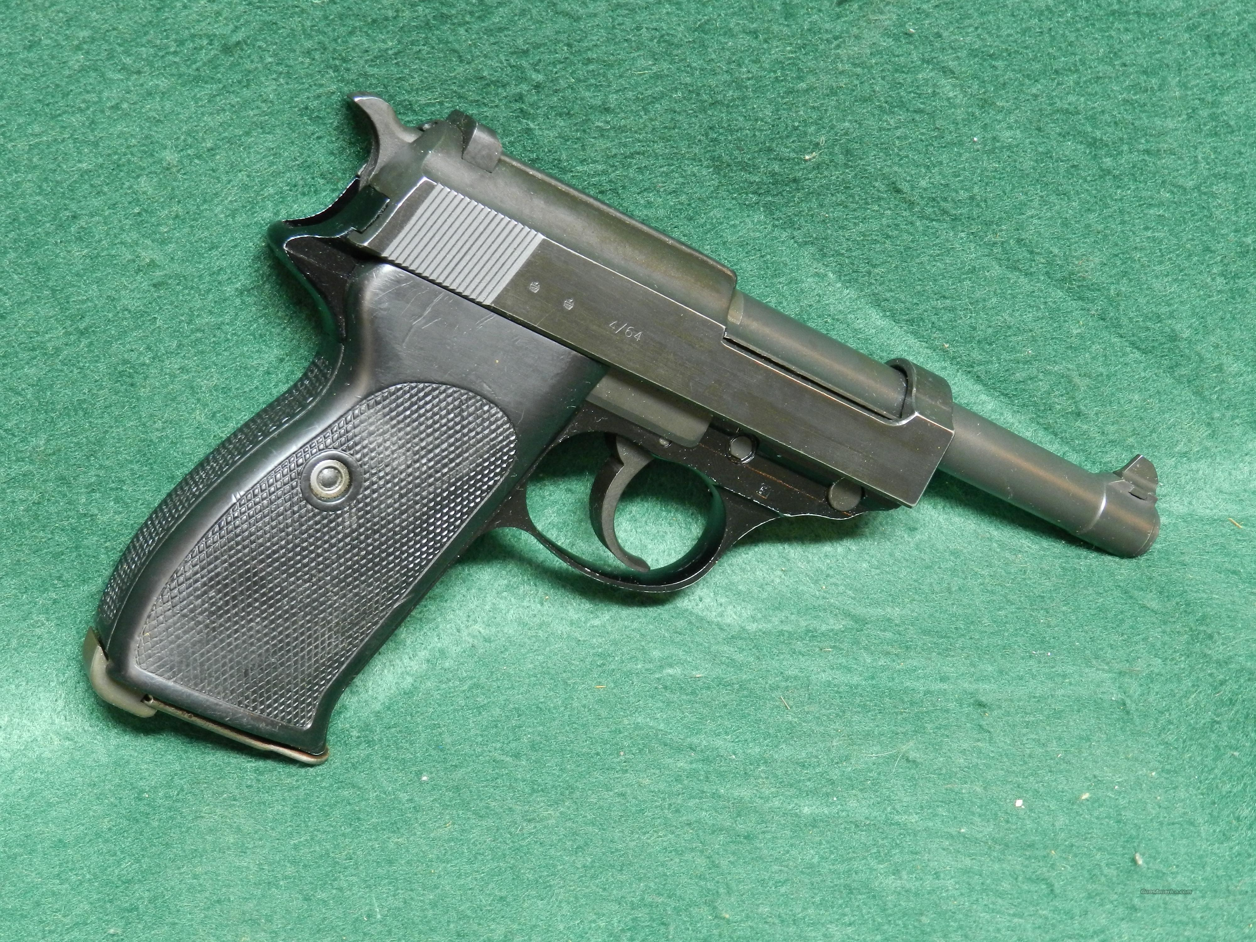 Walther P1 Commercial Version of P38  Guns > Pistols > Walther Pistols > Post WWII > P38