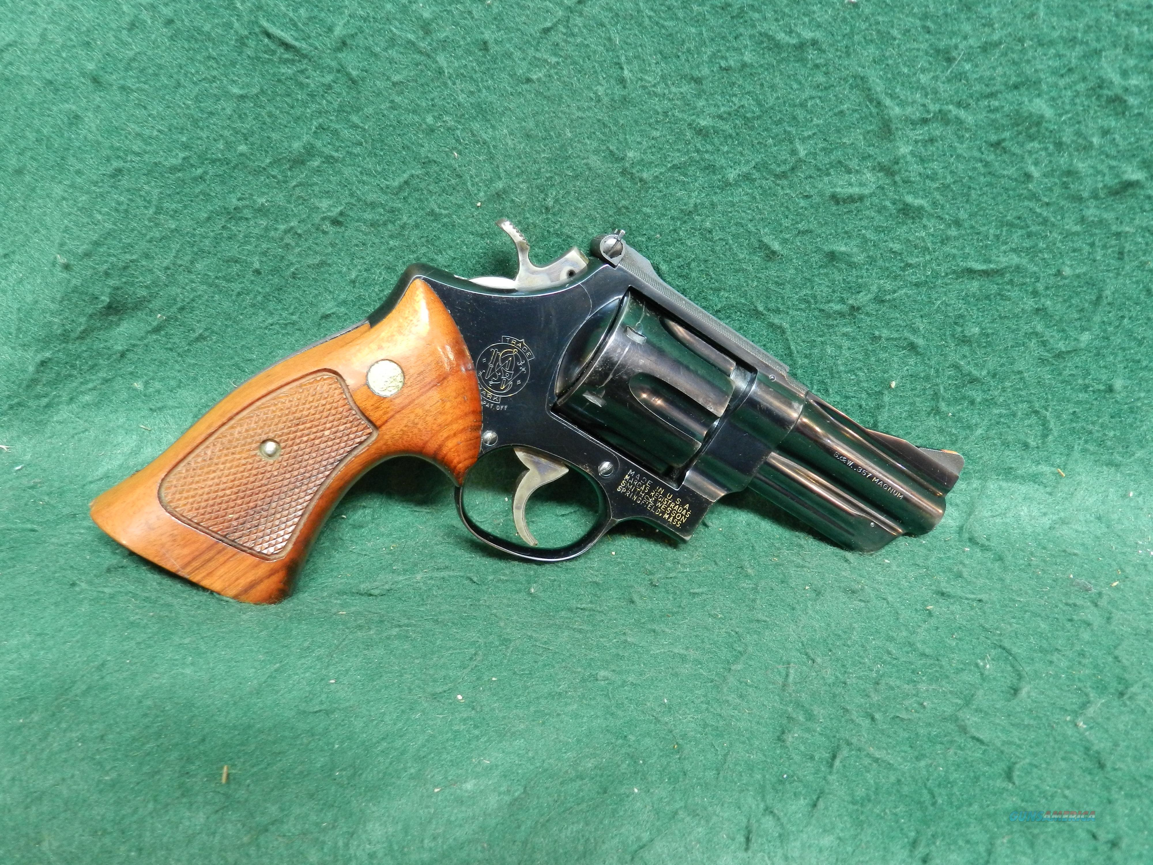 "Smith & Wesson Model 27-2 357 Magnum 3 1/2"" Barrel  Guns > Pistols > Smith & Wesson Revolvers > Full Frame Revolver"