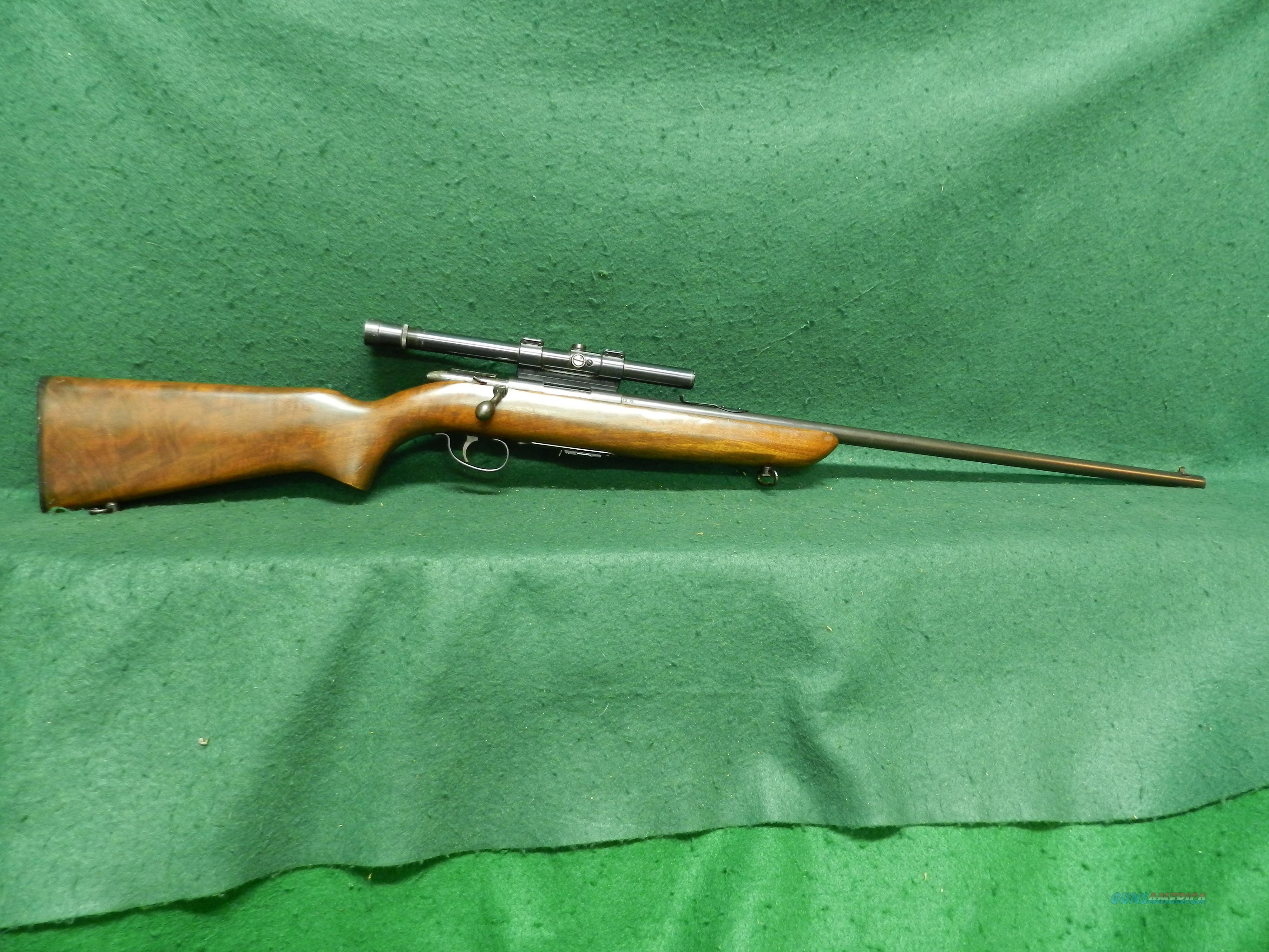 Remington Model 511 Scoremaster - 22 S-L-LR  Guns > Rifles > Remington Rifles - Modern > .22 Rimfire Models