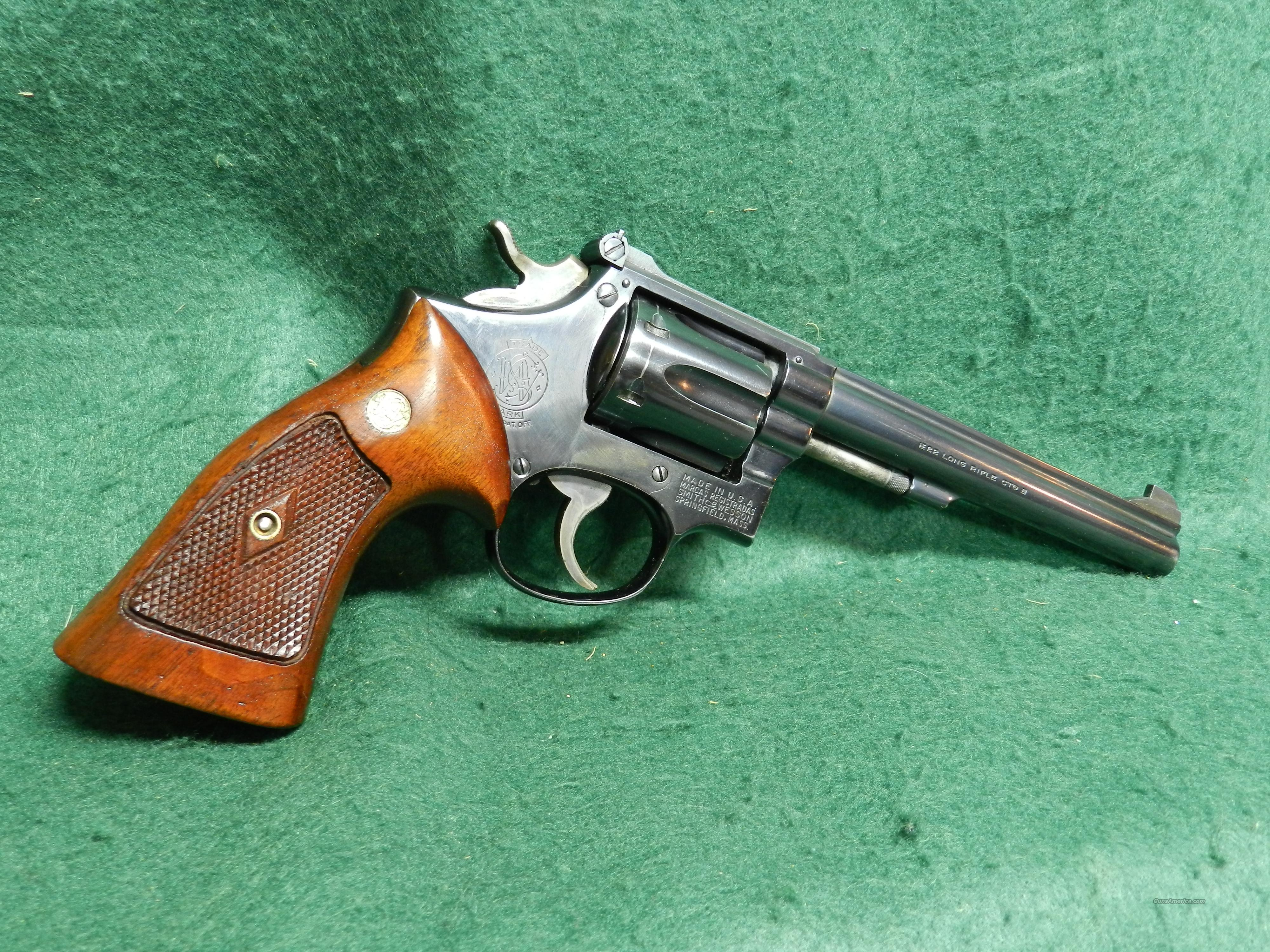 Smith & Wesson K22 Masterpiece Pre- Model 17  Guns > Pistols > Smith & Wesson Revolvers > Full Frame Revolver