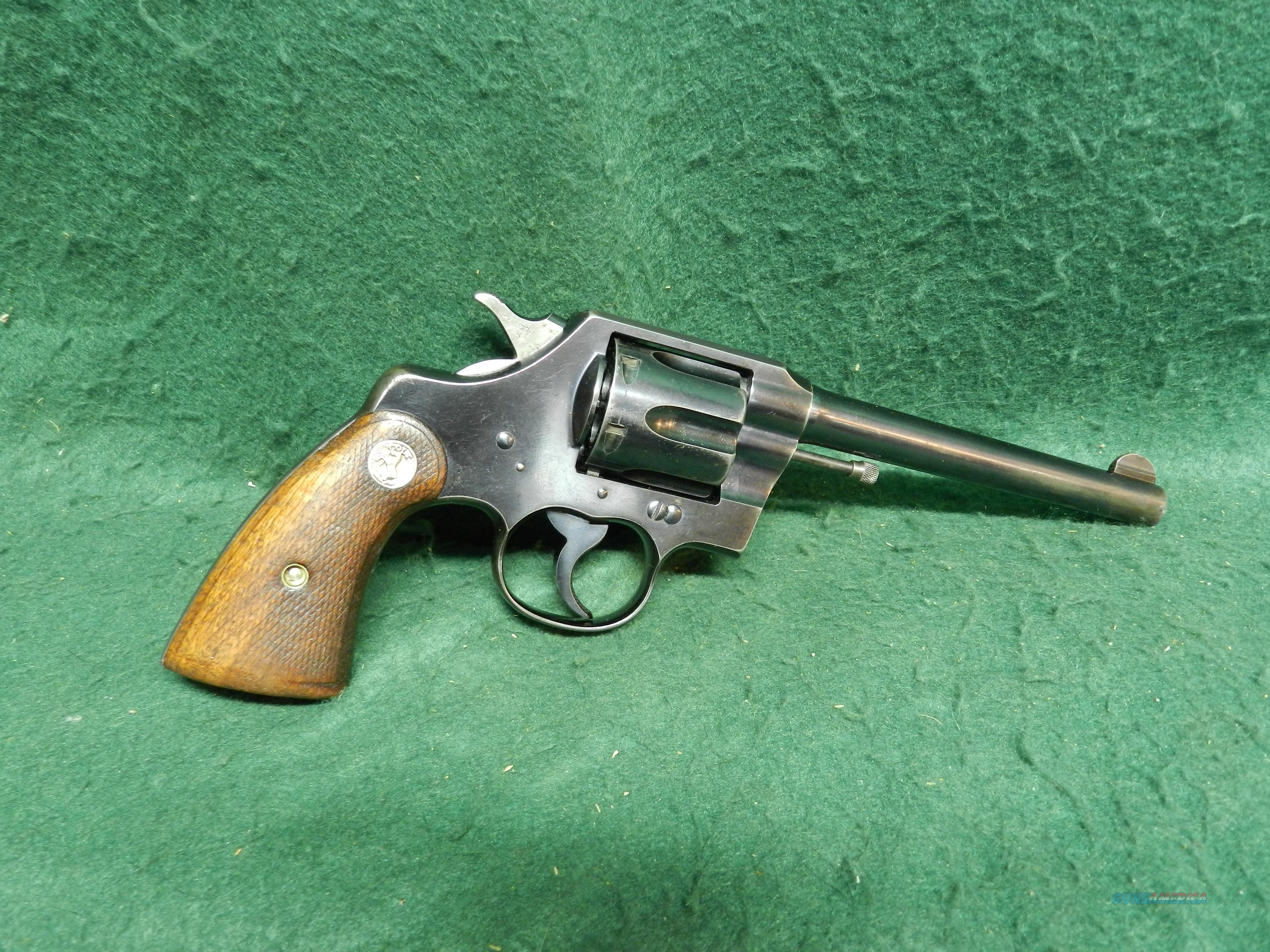 Colt Official Police Revolver in 32-20  Guns > Pistols > Colt Double Action Revolvers- Pre-1945