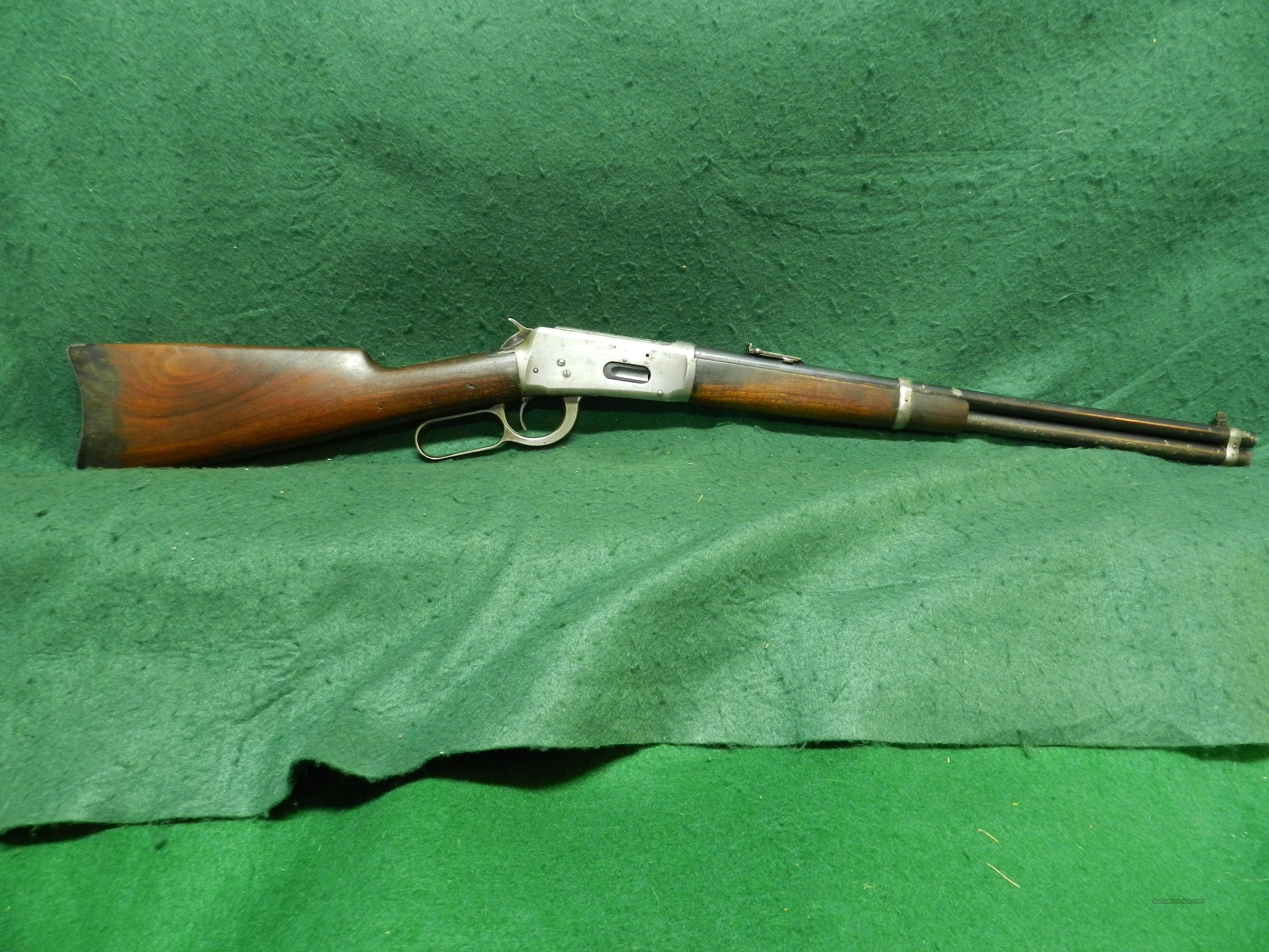 Winchester Model 94 Saddle Ring Carbine  Guns > Rifles > Winchester Rifles - Modern Lever > Model 94 > Pre-64