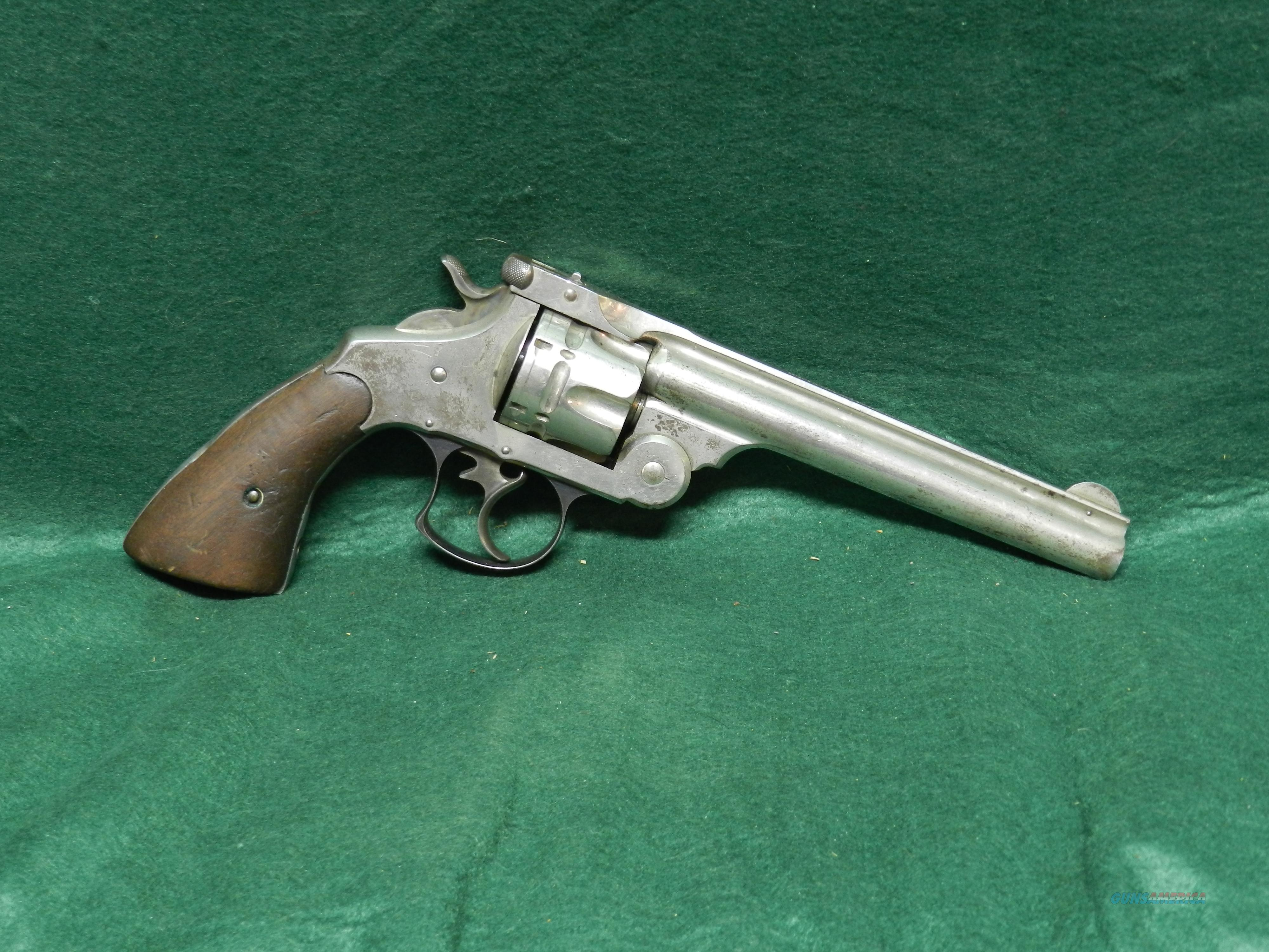Smith & Wesson Double Action 1st Model - 44 S&W  Guns > Pistols > Smith & Wesson Revolvers > Pre-1945