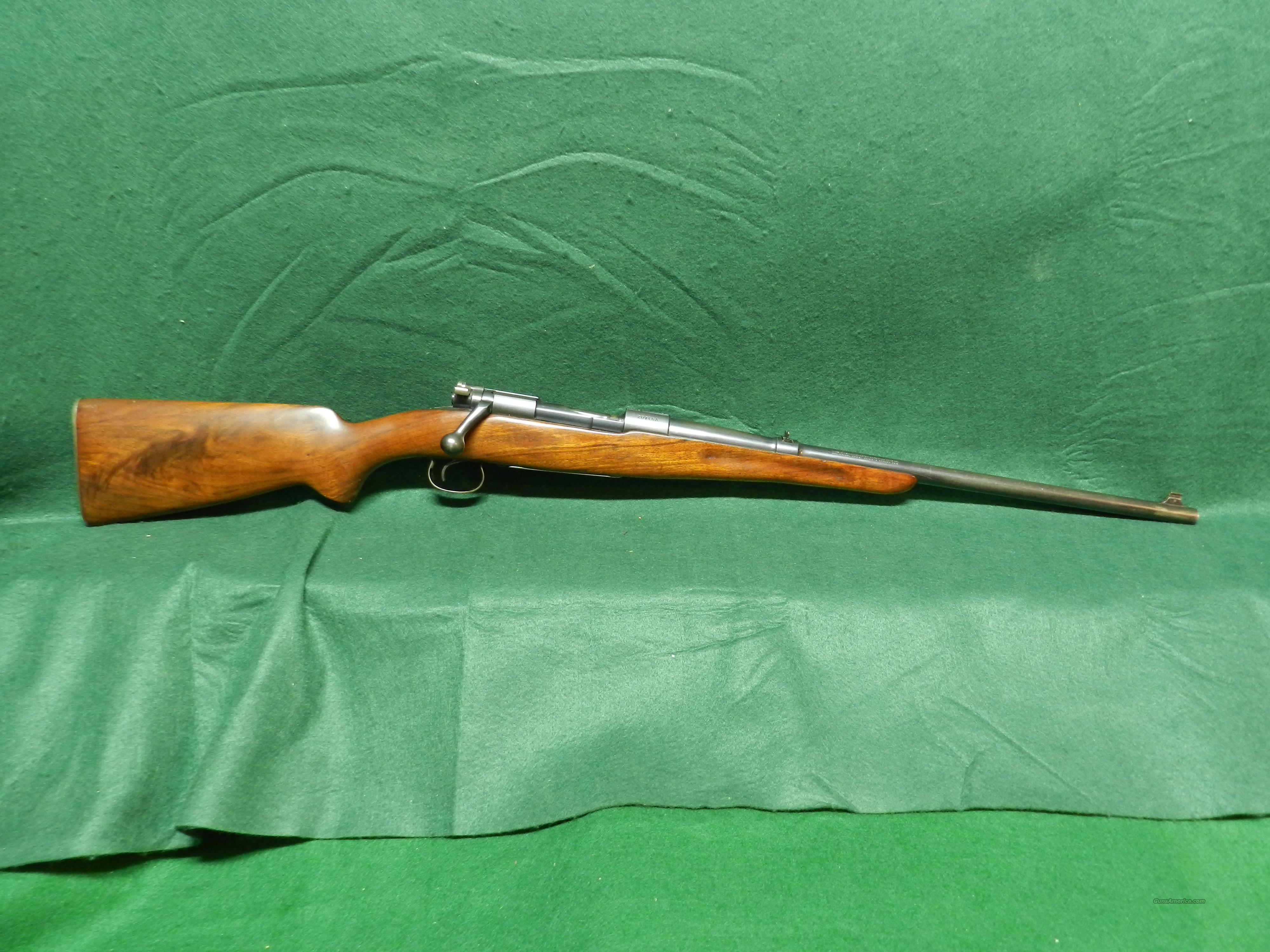 Winchester Model 54 Carbine  Guns > Rifles > Winchester Rifles - Modern Bolt/Auto/Single > Other Bolt Action