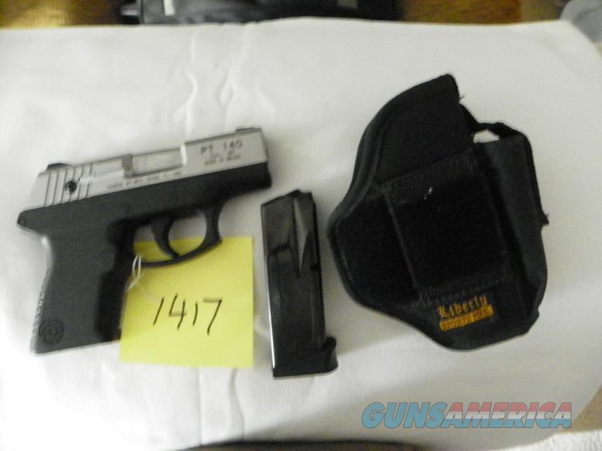 Taurus PT140 in .40 S&W  Guns > Pistols > Taurus Pistols > Semi Auto Pistols > Polymer Frame