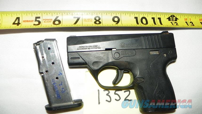 Beretta BU9 NANO in 9mm  Guns > Pistols > Beretta Pistols > Polymer Frame