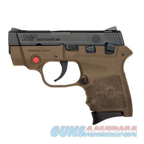 Smith & Wesson Bodyguard 380 with Crimson Trace Red Laser, FDE - New in Box  Guns > Pistols > Smith & Wesson Pistols - Autos > Polymer Frame