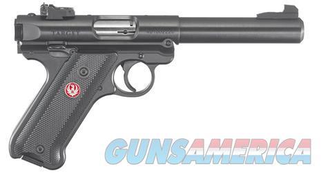"Ruger Mark IV Target .22 LR 5.5"" 10+1 - New in Box  Guns > Pistols > Ruger Semi-Auto Pistols > Mark I/II/III/IV Family"
