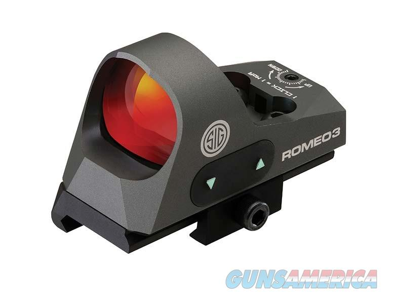 Sig Sauer Romeo3 1x 25mm Reflex Sight - New in Box  Non-Guns > Scopes/Mounts/Rings & Optics > Tactical Scopes > Red Dot