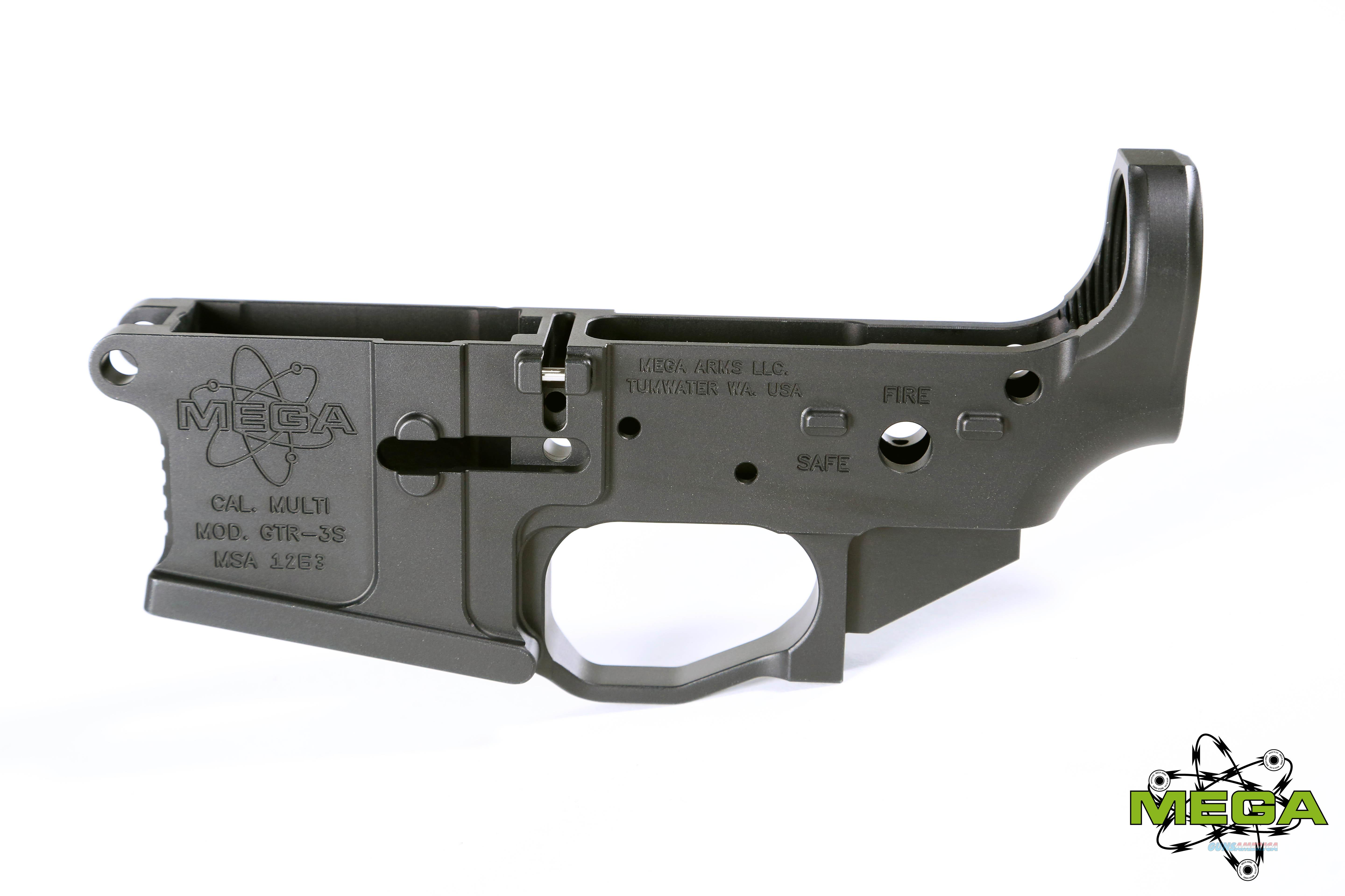 Mega GTR-3S AR15 Billet Lower - 25% off MSRP!  Guns > Rifles > AR-15 Rifles - Small Manufacturers > Lower Only
