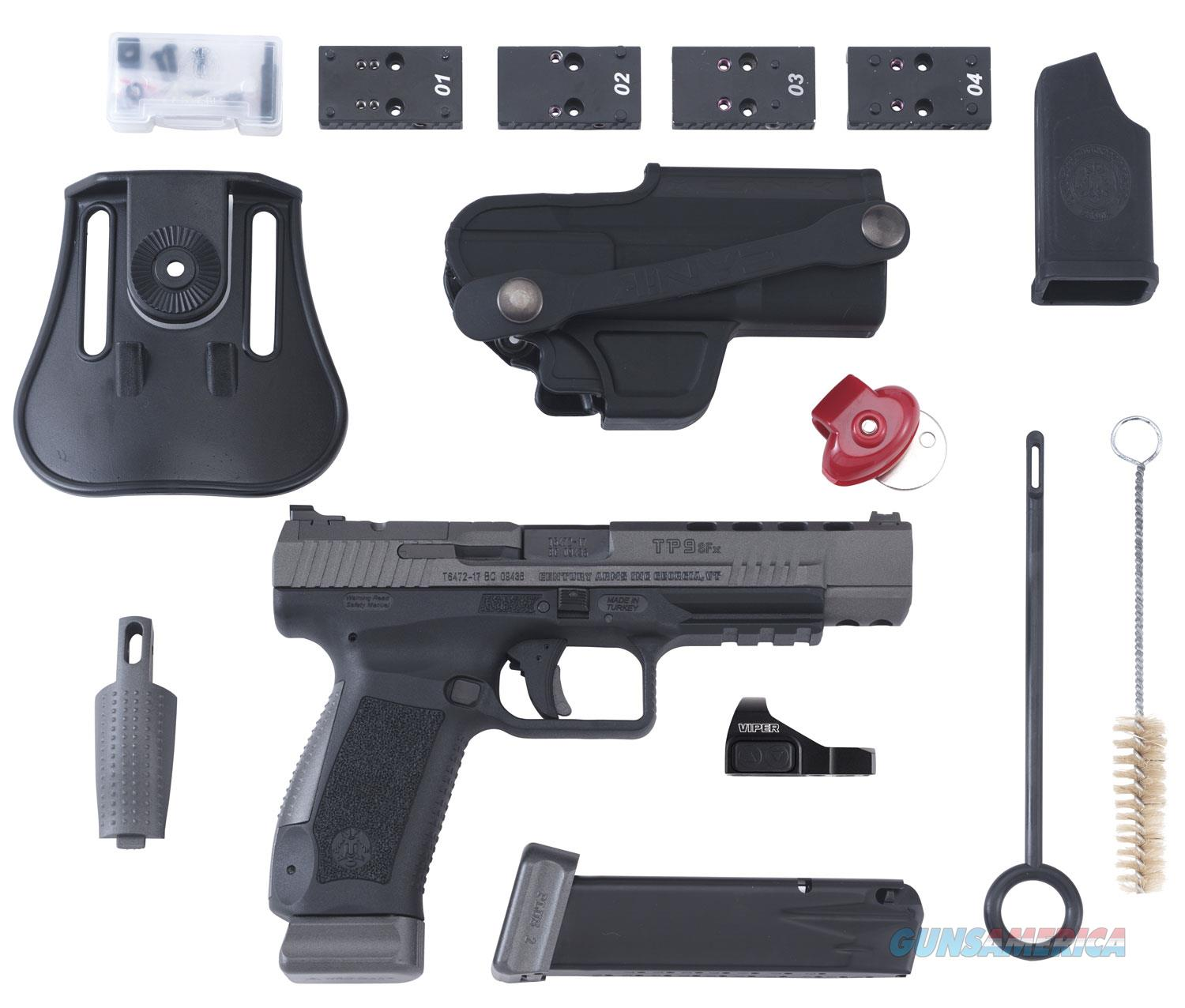 """Century Arms/CIA CANIK TP9SFx 9mm 5.2"""" 20+1 with Vortex Viper Red Dot - New in Box  Guns > Pistols > Canik USA Pistols"""