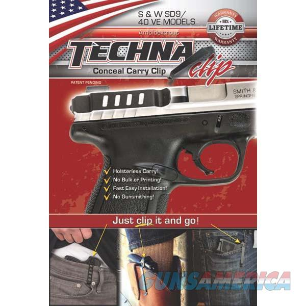 Techna Clip SDBA Gun Belt Clip – Smith & Wesson SD 9/40 VE - Ambidextrous   Non-Guns > Holsters and Gunleather > Concealed Carry