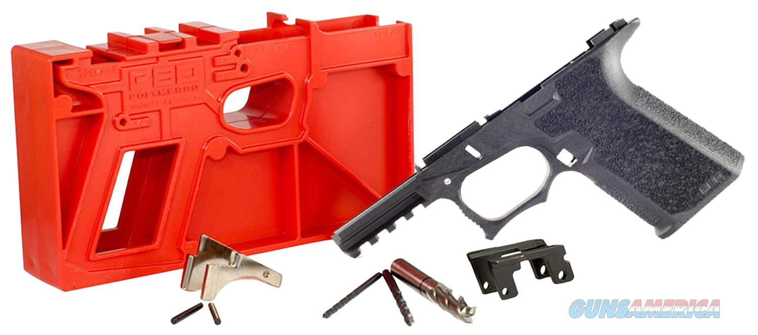 Polymer80 P940C G19/23 Gen3 Compatible 80 Percent Frame Kit Polymer, Black  Non-Guns > Gun Parts > Grips > Other