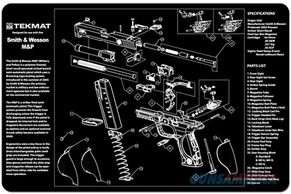 TEKMAT Armorers Bench Mat – Smith & Wesson® M&P®  Non-Guns > Gunsmith Tools/Supplies