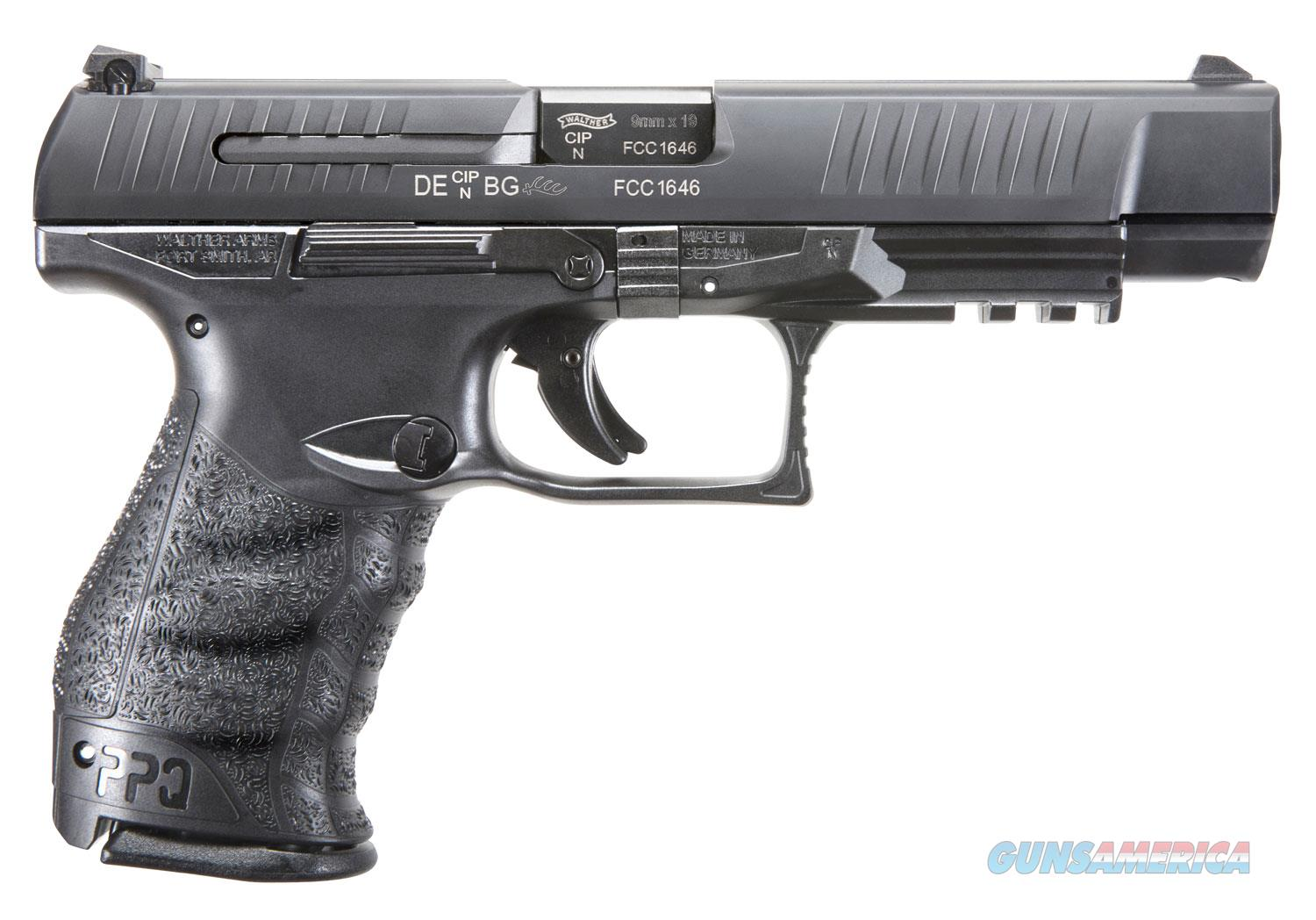 "Walther PPQ M2 9mm 5"" 15+1 - New in Case  Guns > Pistols > Walther Pistols > Post WWII > P99/PPQ"