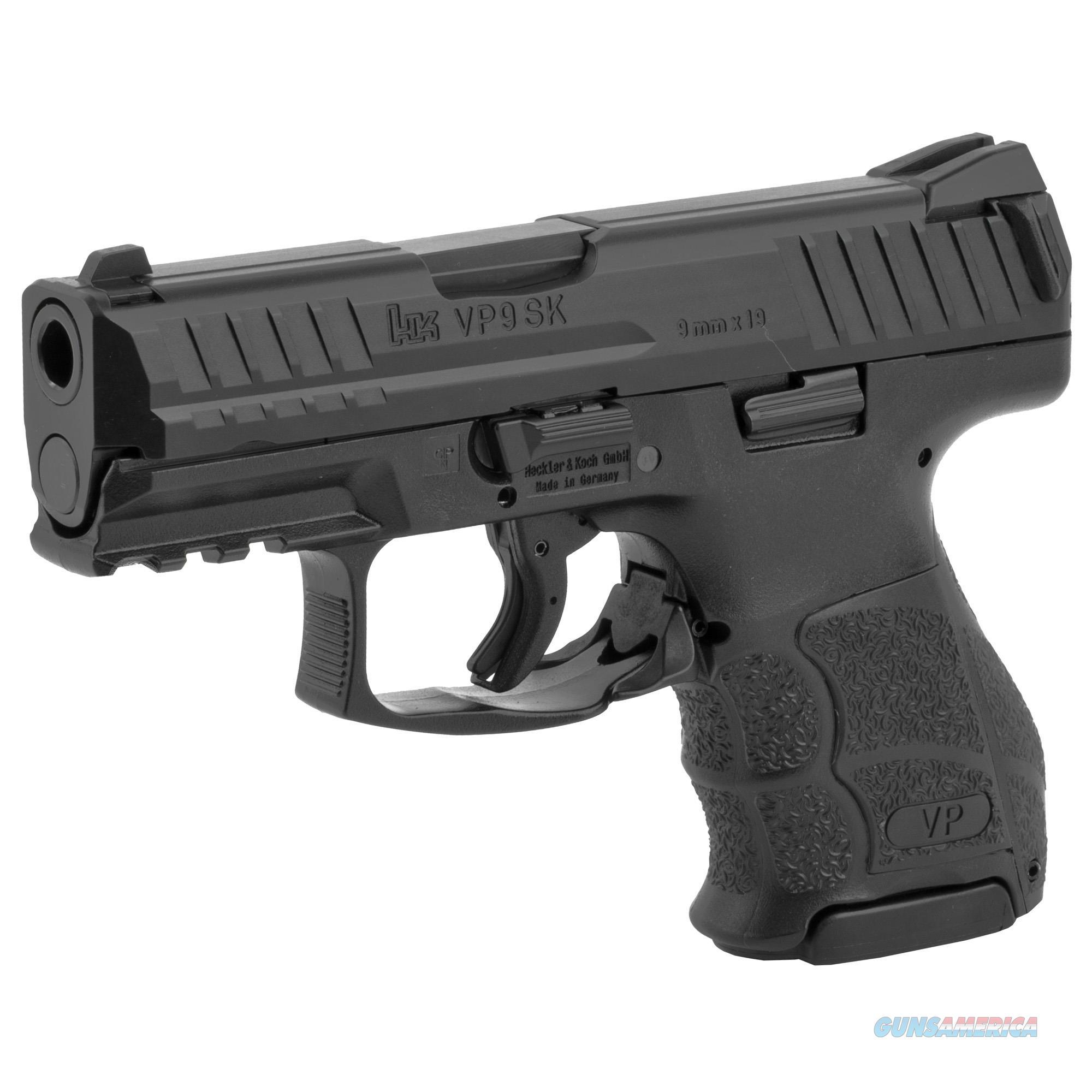 "HK VP9 SK 9mm3.39"" 10+1 - New in Case  Guns > Pistols > Heckler & Koch Pistols > Polymer Frame"