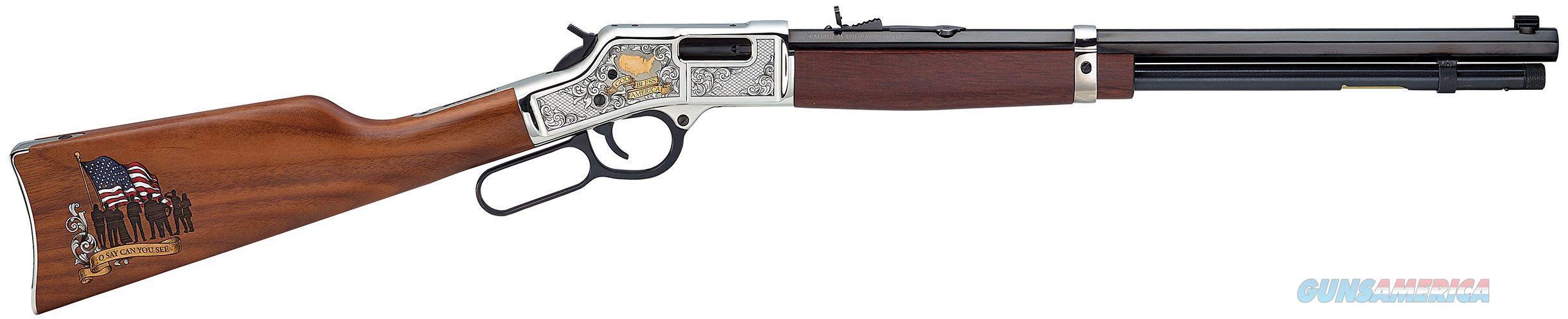 "Henry God Bless America Edition Big Boy .44 Magnum 20"" 10+1 - New in Box  Guns > Rifles > Henry Rifle Company"