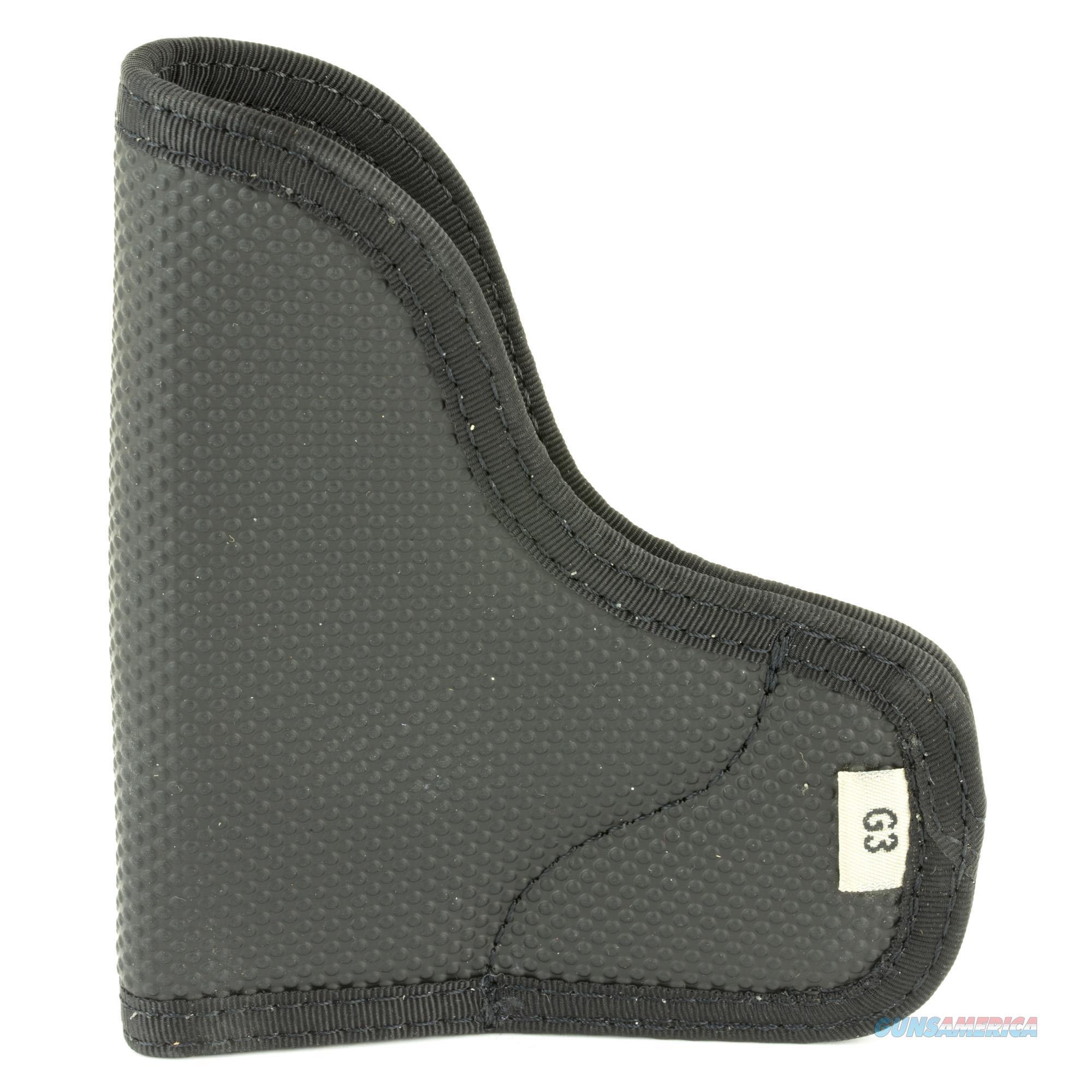 DeSantis N38BJG3Z0 Nemesis Pocket Holster – Ambidextrous, Black - Kel-Tec/Ruger/Taurus  Non-Guns > Holsters and Gunleather > Concealed Carry