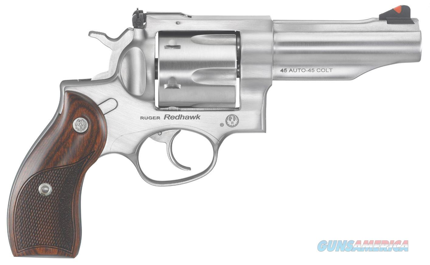 "Ruger Redhawk 45 ACP/45 Long Colt  4.2"" 6 Shot - New in Box  Guns > Pistols > Ruger Double Action Revolver > Redhawk Type"