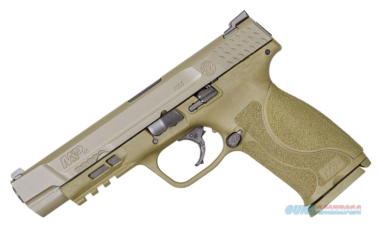 Smith & Wesson M&P 2.0 .40 S&W, No Thumb Safety, FDE  Guns > Pistols > Smith & Wesson Pistols - Autos > Polymer Frame