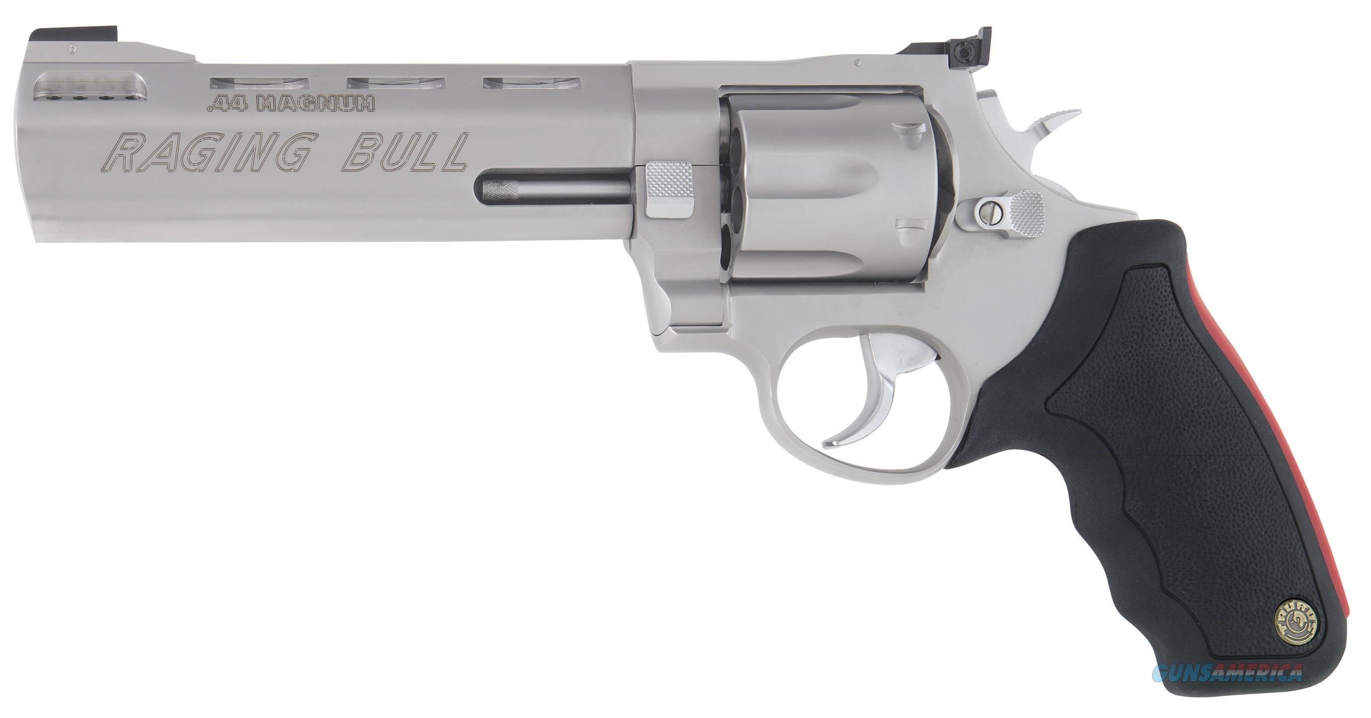 "Taurus Model 444 Raging Bull 44 Mag 6.5"" 6rd - New in Box  Guns > Pistols > Taurus Pistols > Revolvers"