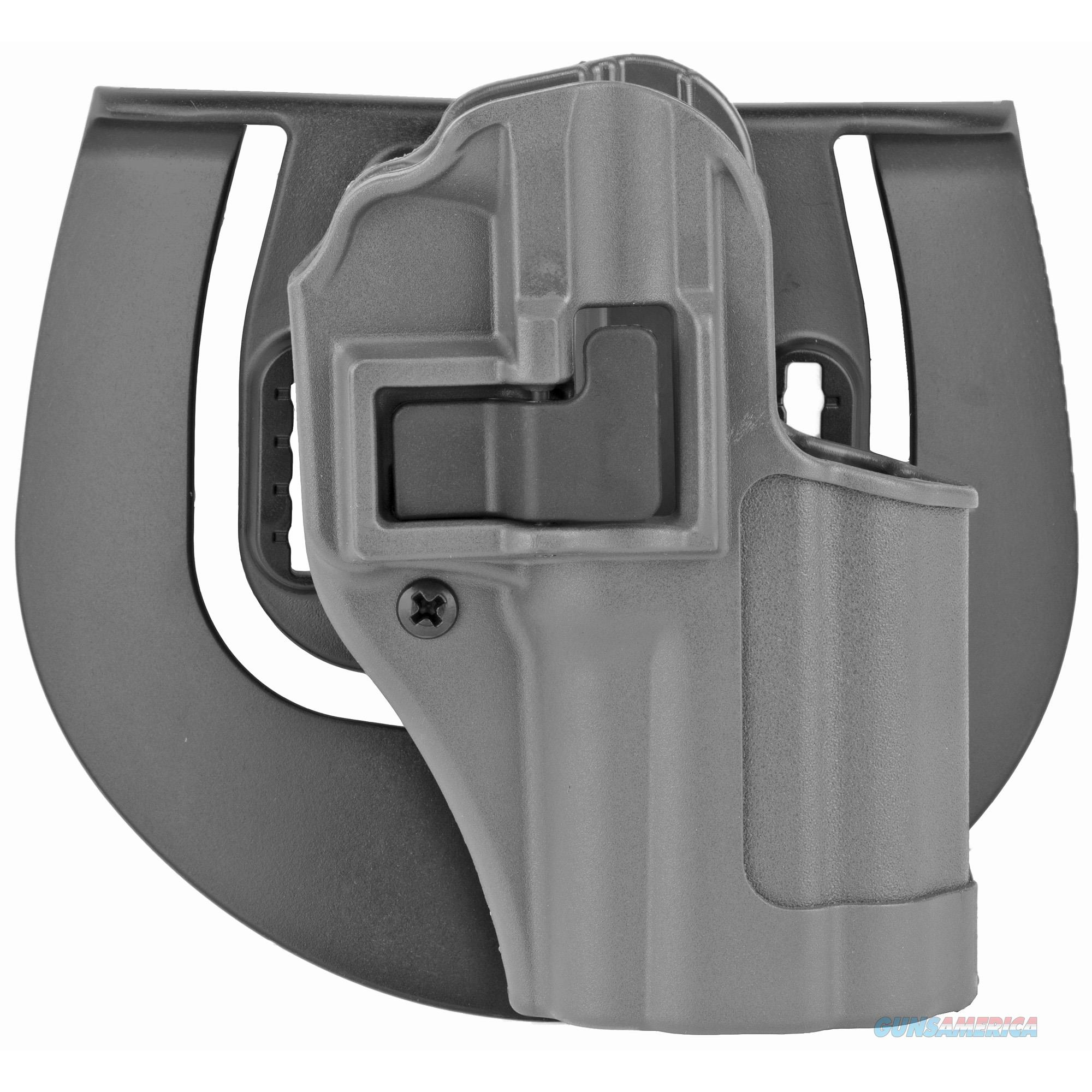 BlackHawk 413507BK-R SERA CQC Sportster Paddle Holster – Gun Metal Gray, Right Draw – Springfield XD Compact  Non-Guns > Holsters and Gunleather > Concealed Carry