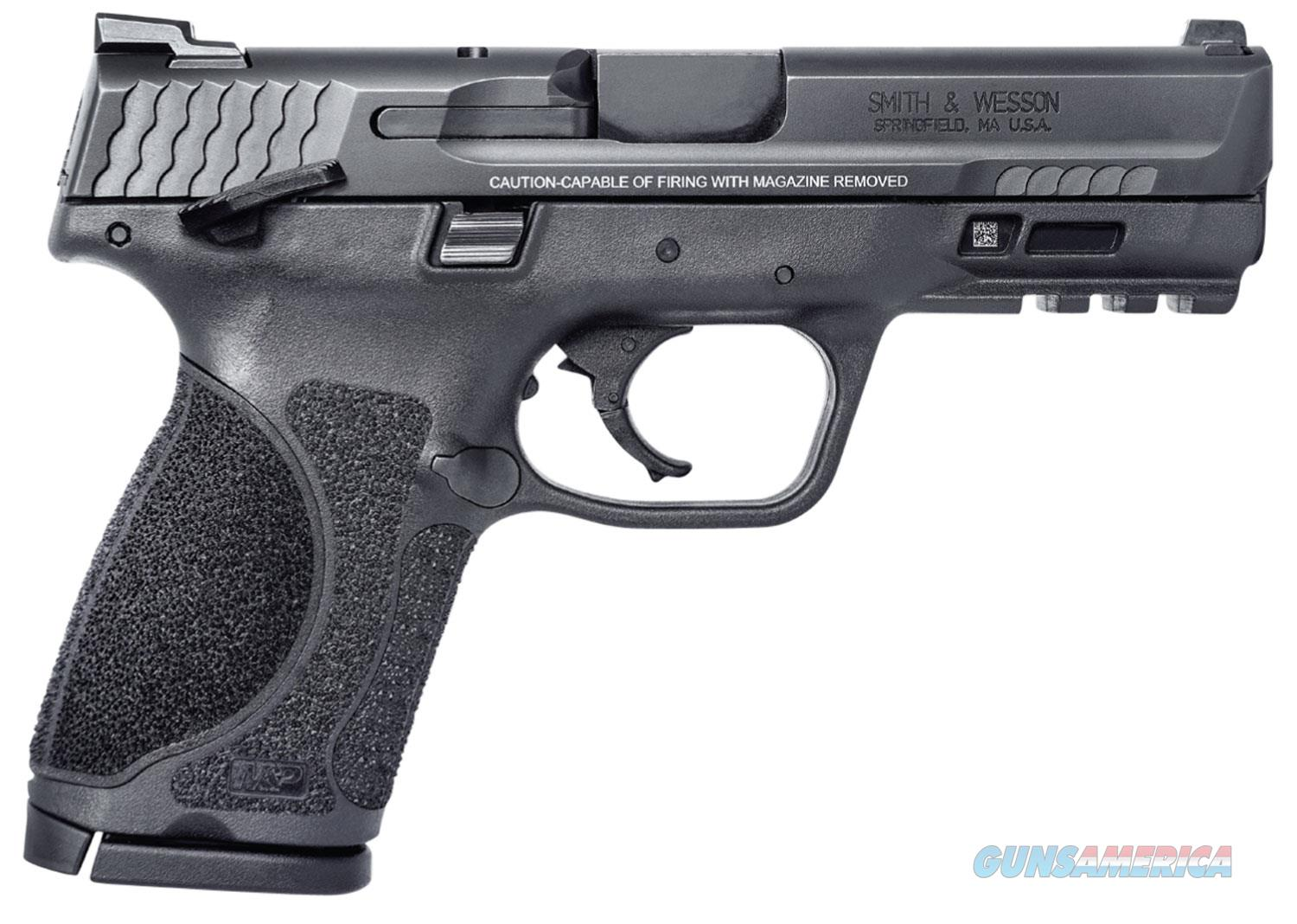 """Smith & Wesson M&P M2.0 9mm 4"""" 15+1, Thumb Safety - New in Box  Guns > Pistols > Smith & Wesson Pistols - Autos > Polymer Frame"""