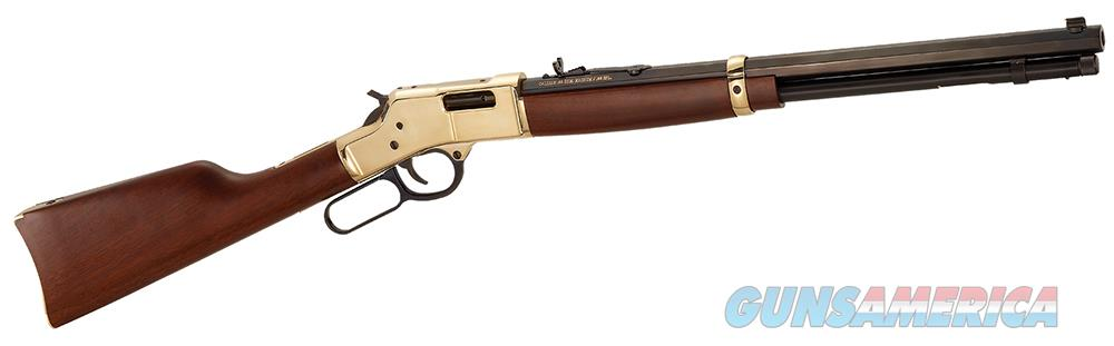 "Henry Big Boy .45 Colt (LC) 20"" 10+1 Brass Receiver  Guns > Rifles > Henry Rifles - Replica"