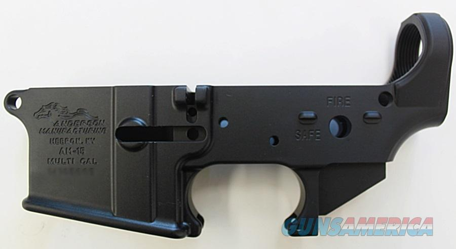Anderson Stripped AR15 Mil-Spec Multi Cal Lower Receiver    Guns > Rifles > AR-15 Rifles - Small Manufacturers > Lower Only