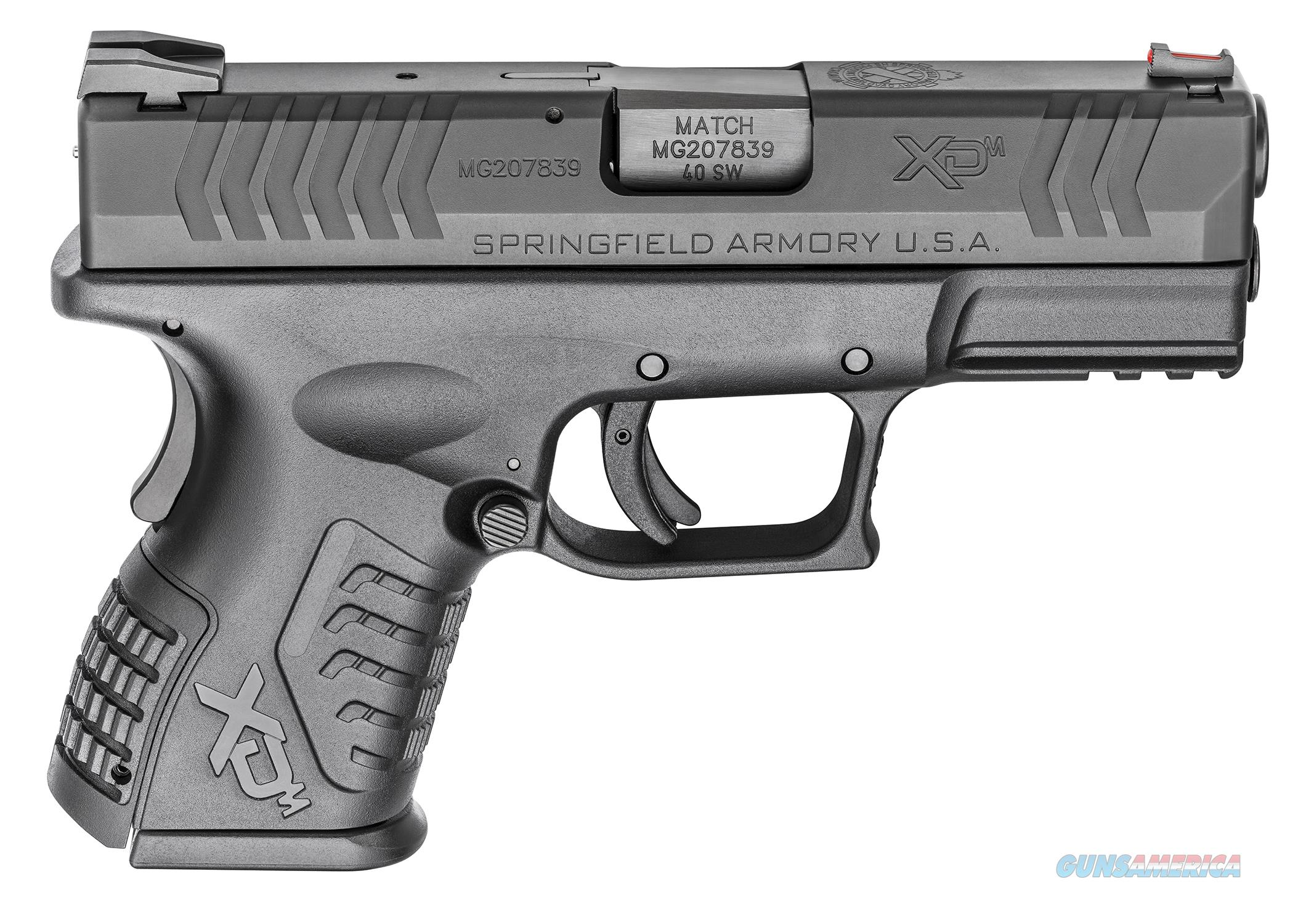 "Springfield XD(M) Compact .40SW 3.8"" 11+1/16+1 - New in Case  Guns > Pistols > Springfield Armory Pistols > XD-M"