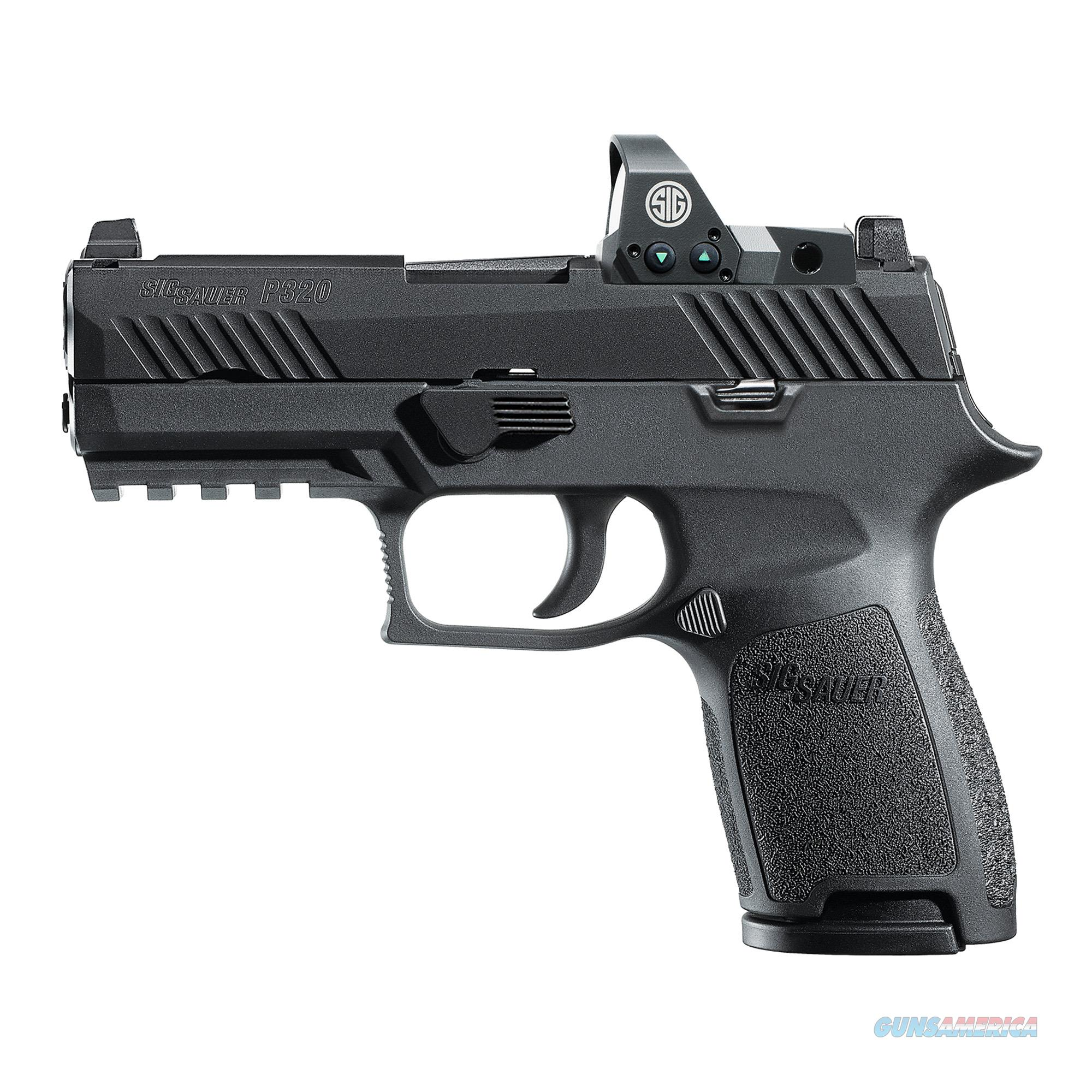 "Sig Sauer P320 RX Compact 9mm 3.9"" 15+1 - New in Case  Guns > Pistols > Sig - Sauer/Sigarms Pistols > P320"
