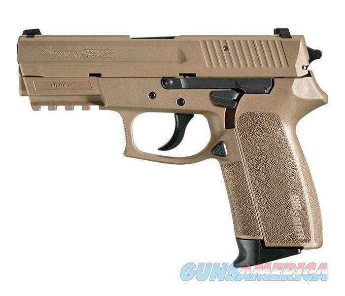 "Sig Sauer SP2022 FDE 9mm 3.9"" 15+1 - New in Box  Guns > Pistols > Sig - Sauer/Sigarms Pistols > 2022"