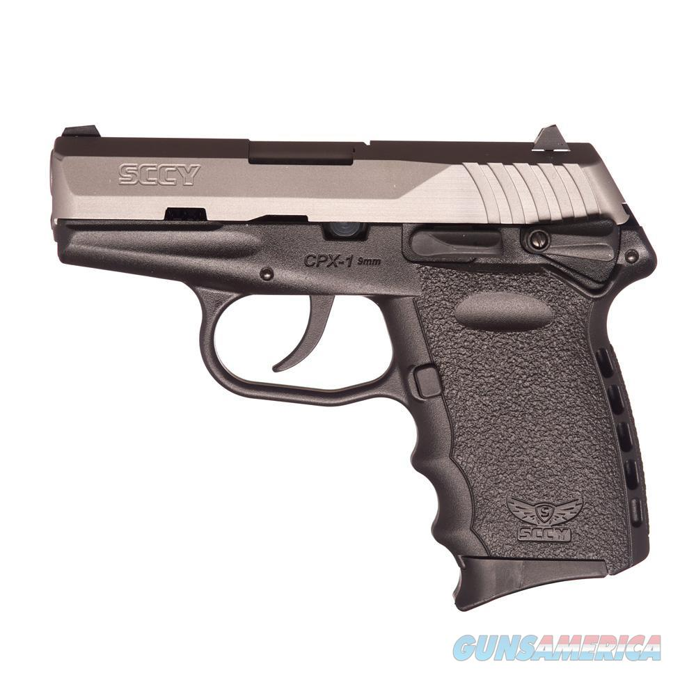 SCCY CPX-1 9mm Auto Pistol –Black/Satin - New in Box  Guns > Pistols > SCCY Pistols > CPX1