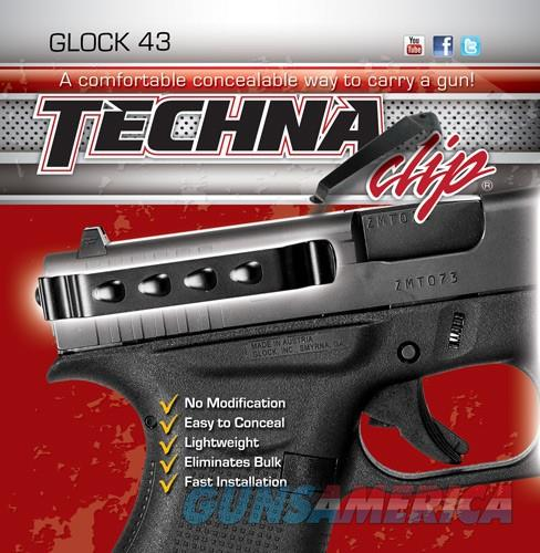 Techna Clip Gun Belt Clip – Glock 43, 43X and 48 - Ambidextrous  Non-Guns > Holsters and Gunleather > Concealed Carry