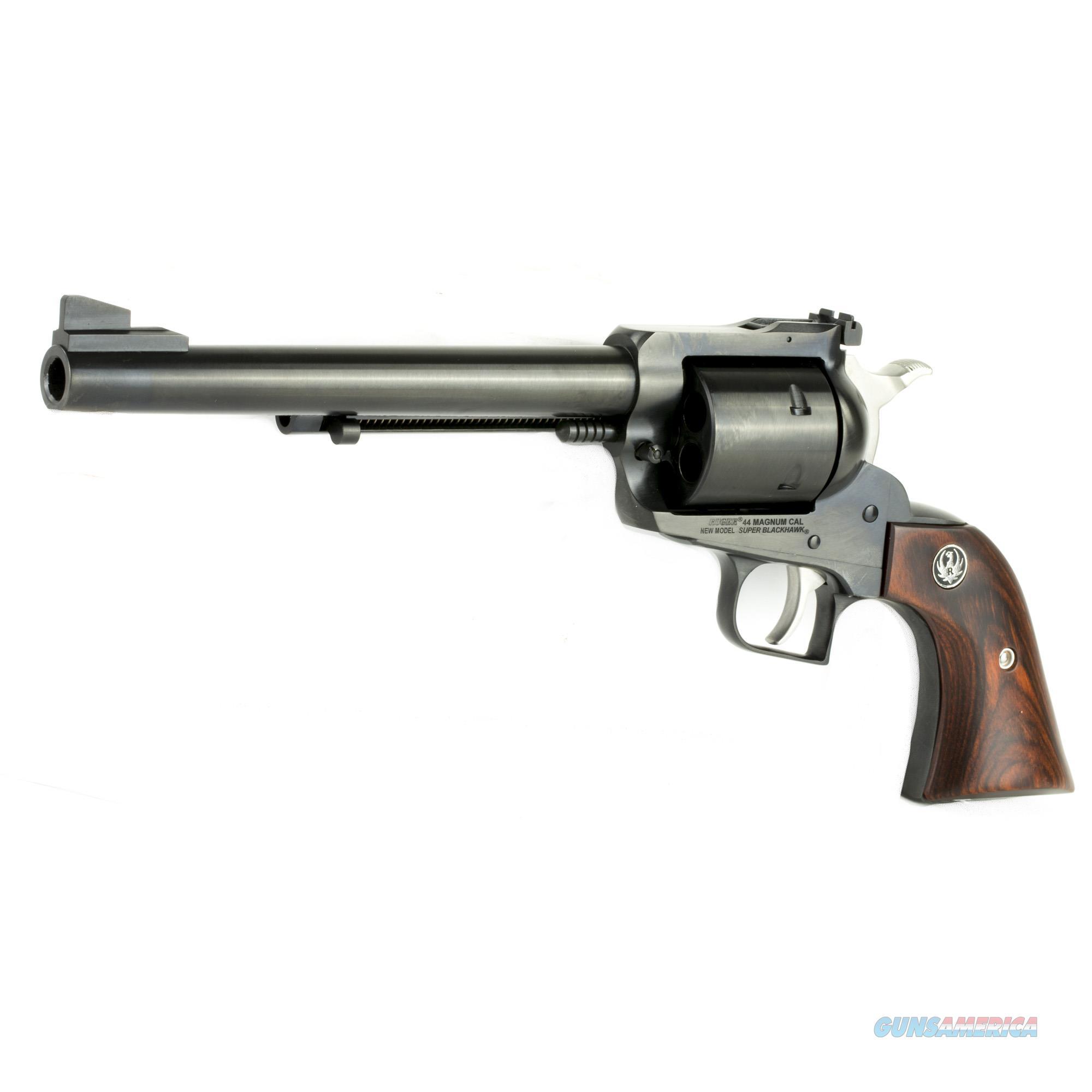 """Ruger Super Blackhawk .44 Magnum 7.5"""" 6 Shot Hardwood Grip - New in Box  Guns > Pistols > Ruger Single Action Revolvers > Blackhawk Type"""