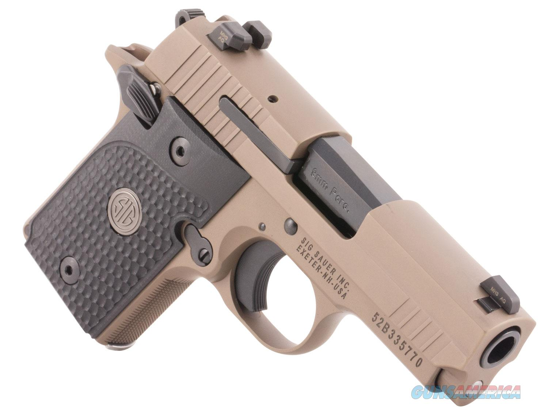 "Sig Sauer P938 Emperor Scorpion 9mm 3.5"" 6+1/7+1, Night Sights - New in Case  Guns > Pistols > Sig - Sauer/Sigarms Pistols > P938"