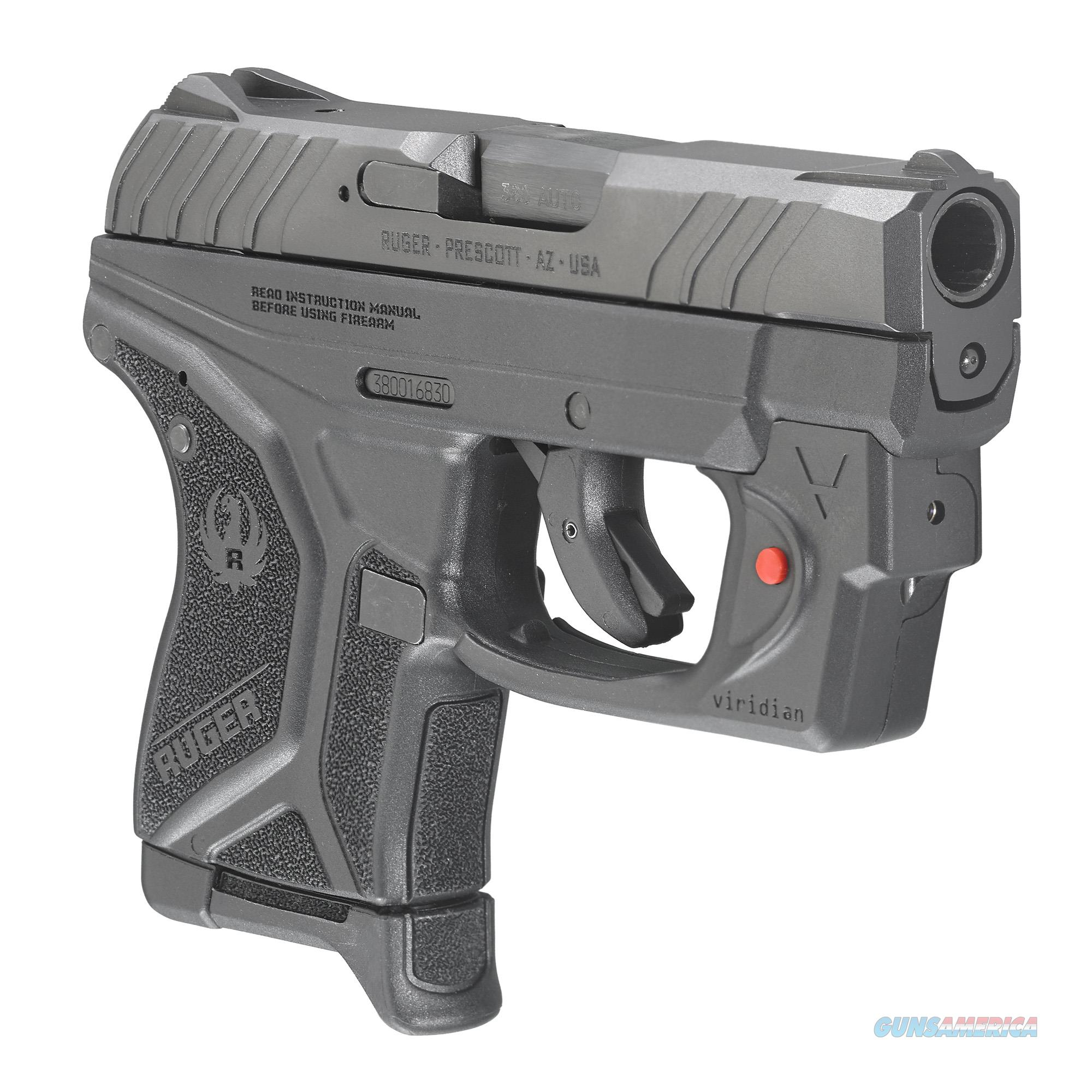 "Ruger LCP II with Viridian Laser .380 ACP 2.75"" 6+1 - New in Box!  Guns > Pistols > Ruger Semi-Auto Pistols > LCP"
